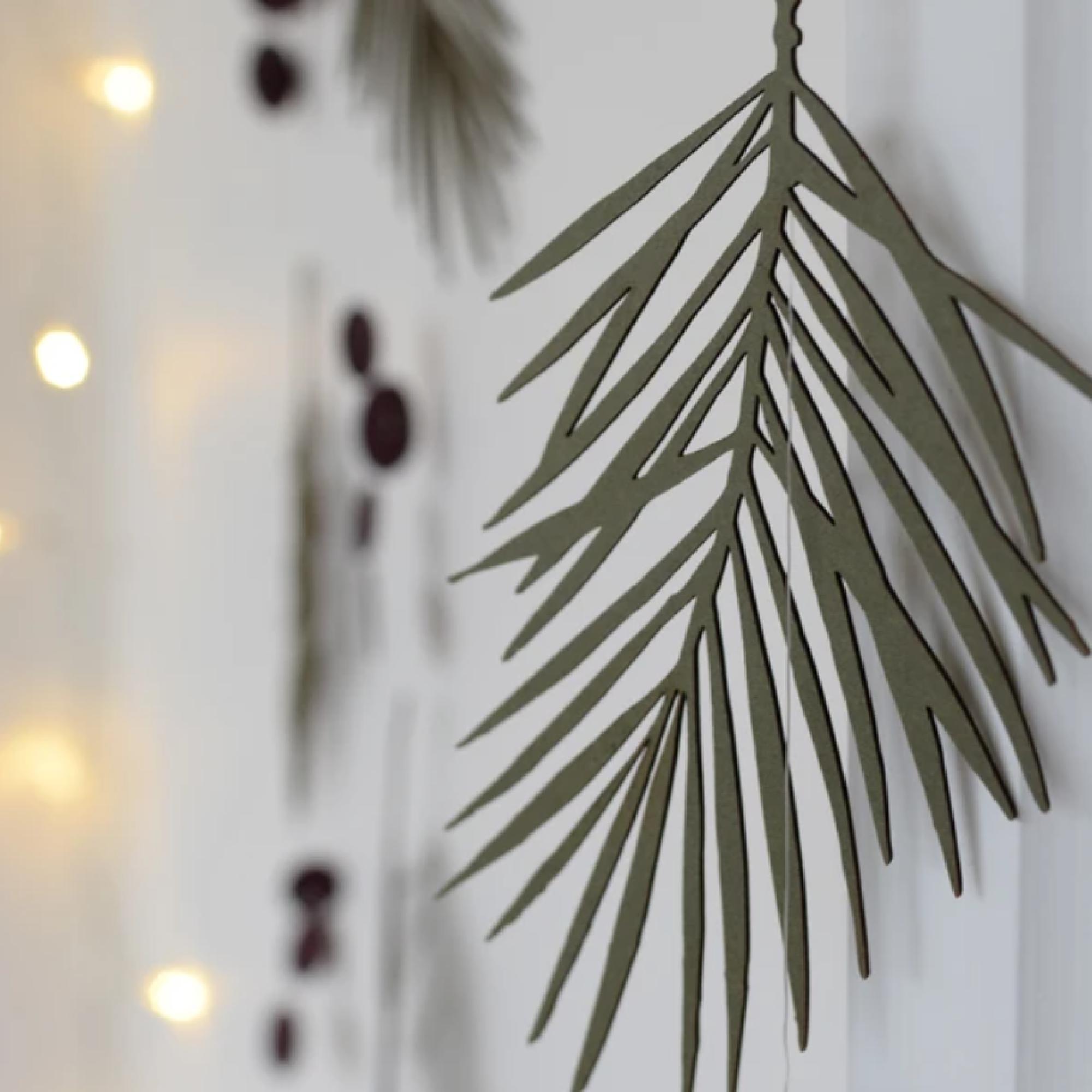 Evergreen Winter Treasure by Hannah Nunn