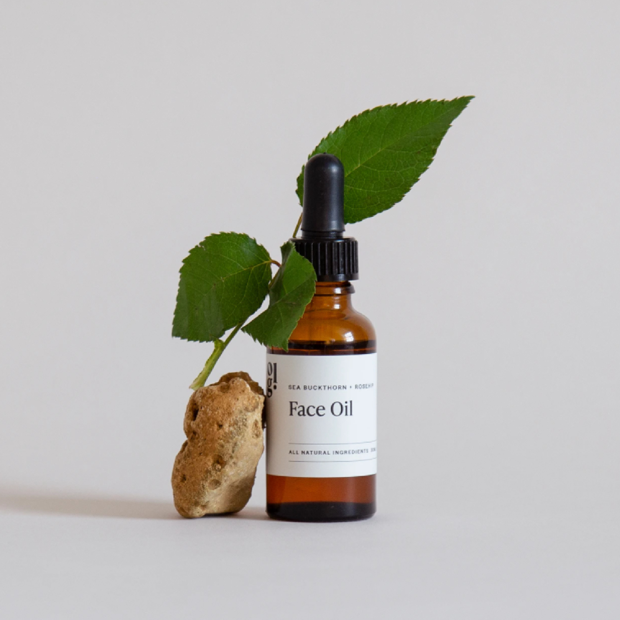Sea-buckthorn and Rosehip Seed Botanical Face Oil by Our Lovely Goods