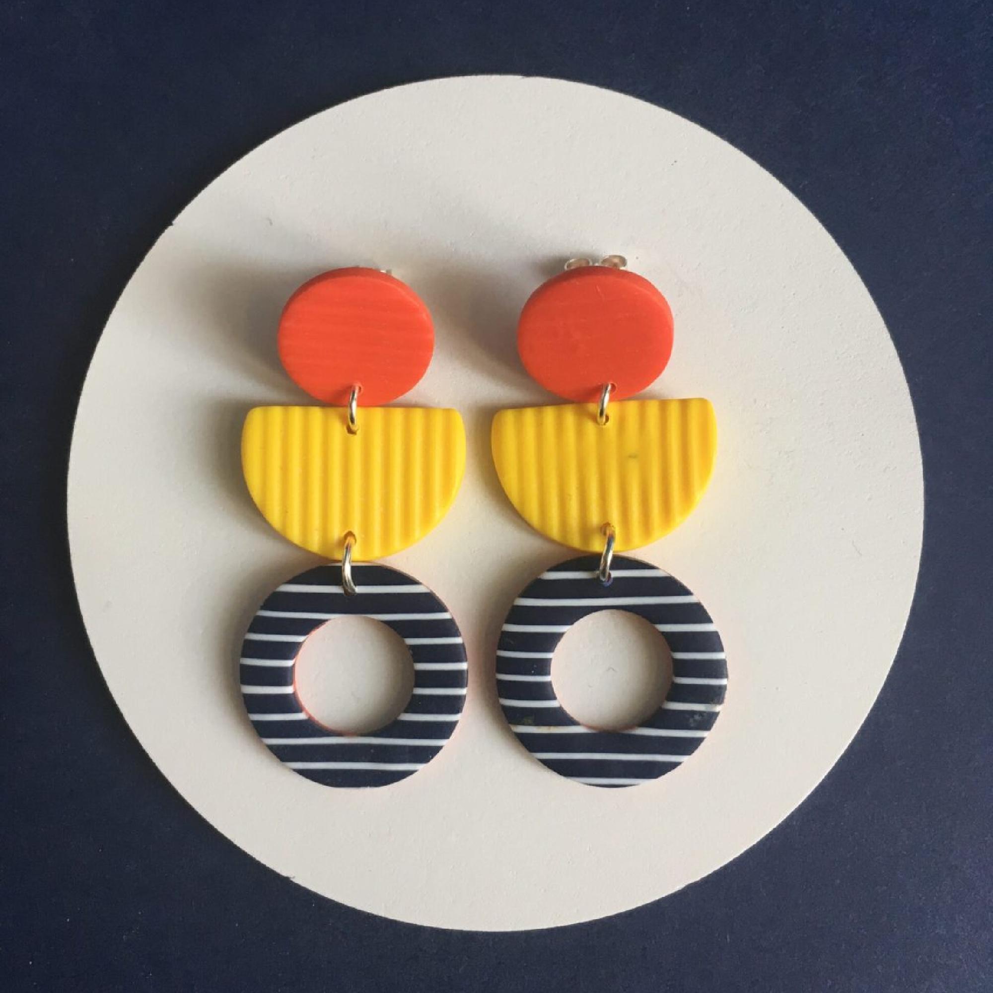 Pornic Breton Earrings by Nadege Honey