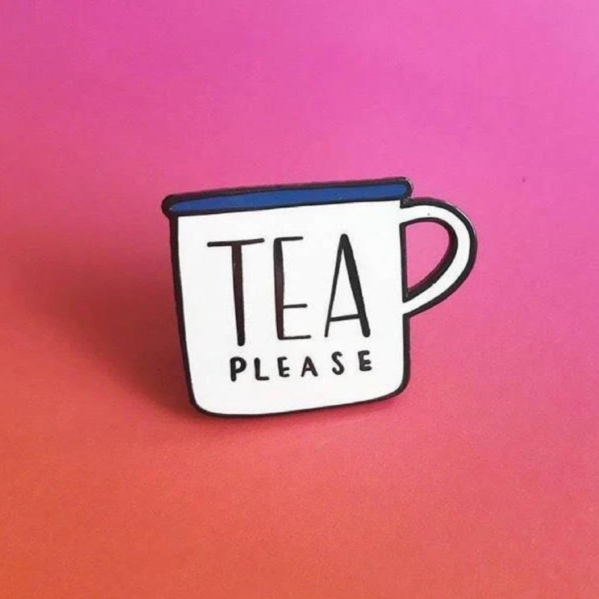Tea Enamel Pin