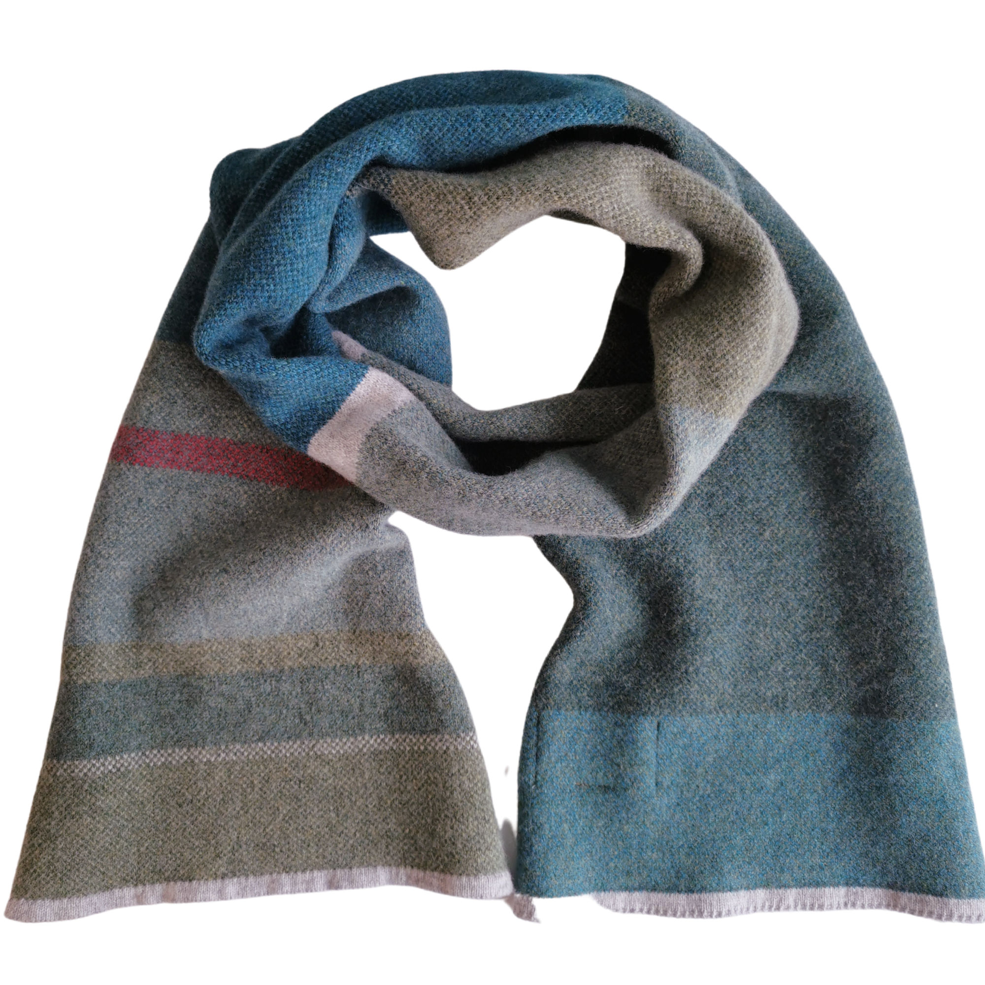Highland Lambswool Scarf by Louise Wedderburn