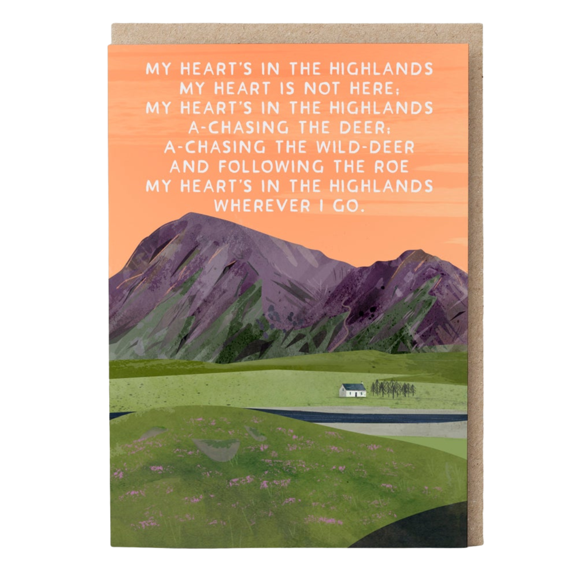 Card - Heart in the Highlands