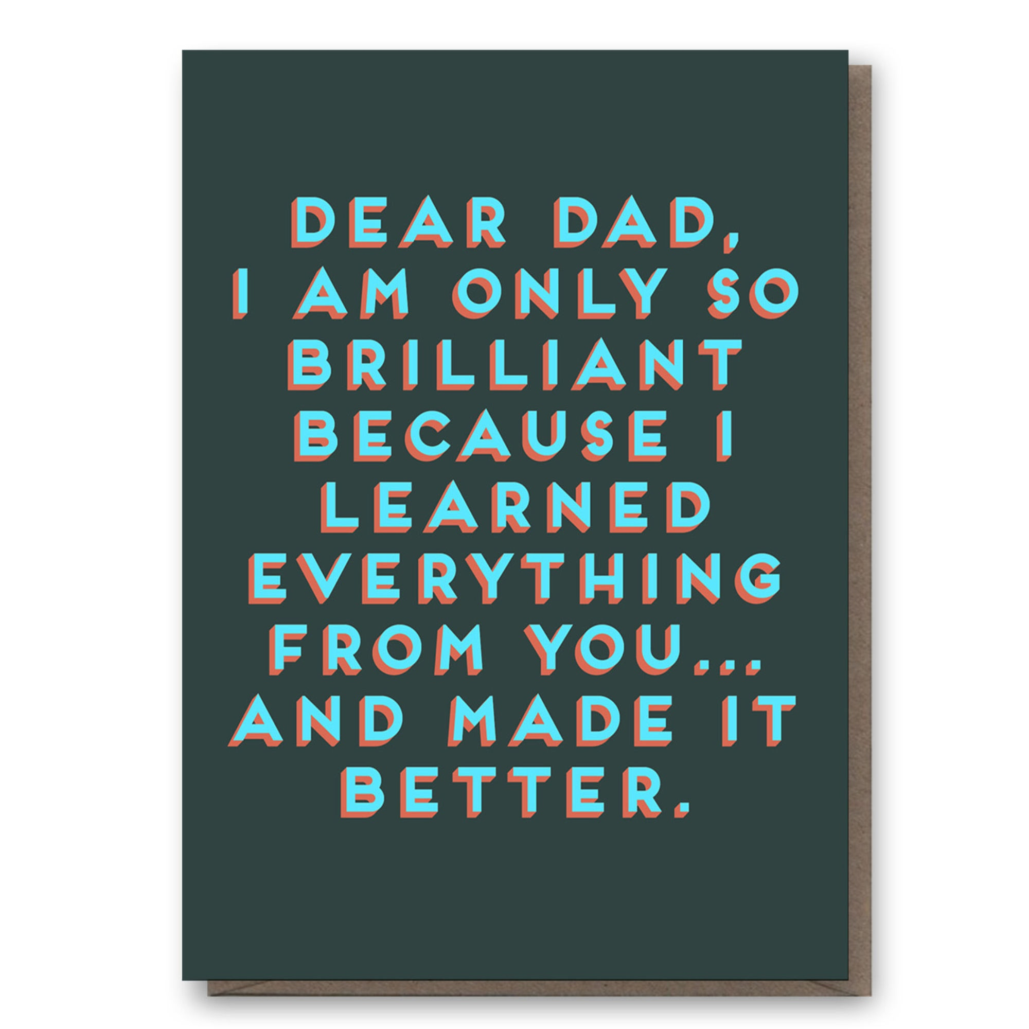 Card - For Dads