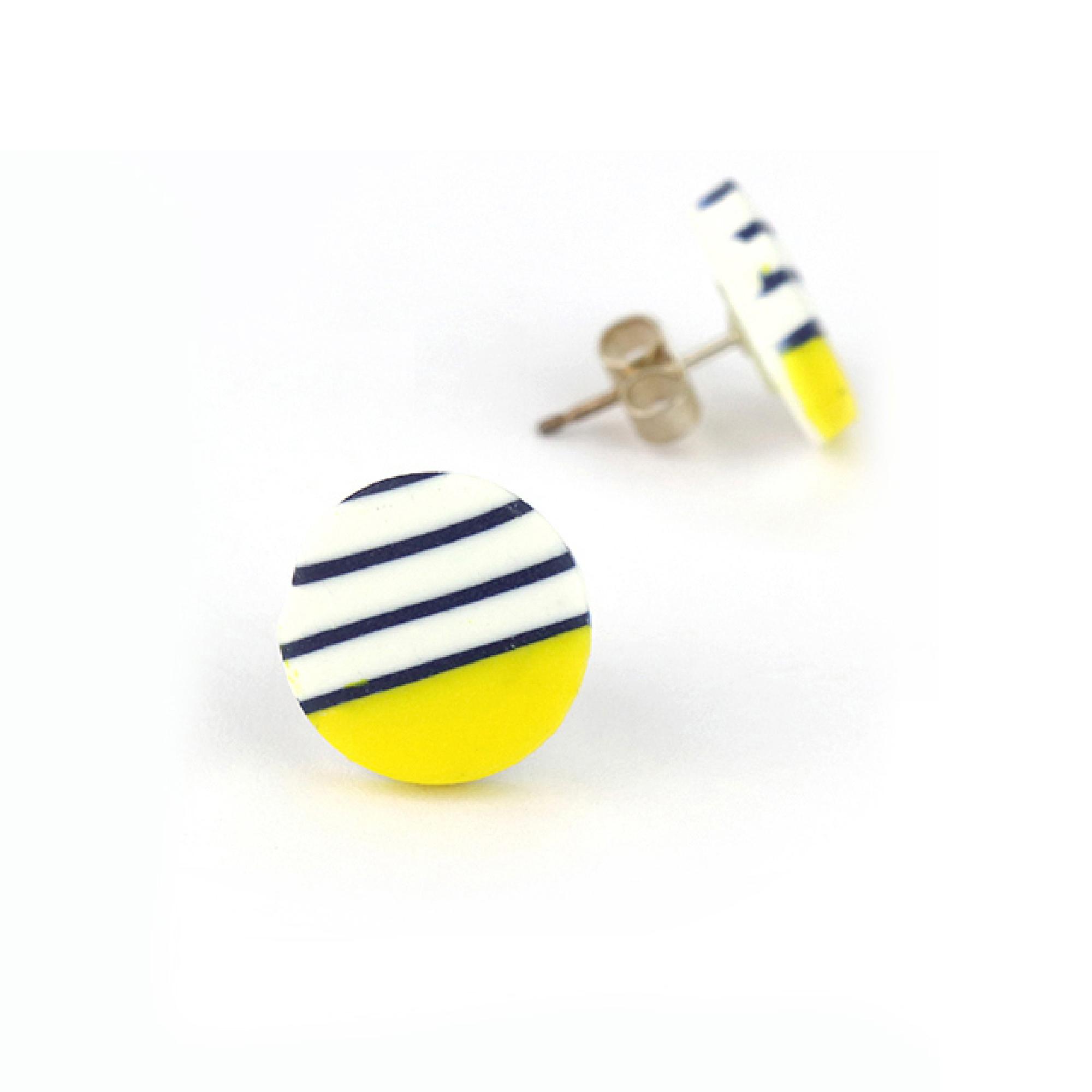 Small Breton Studs by Nadege Honey