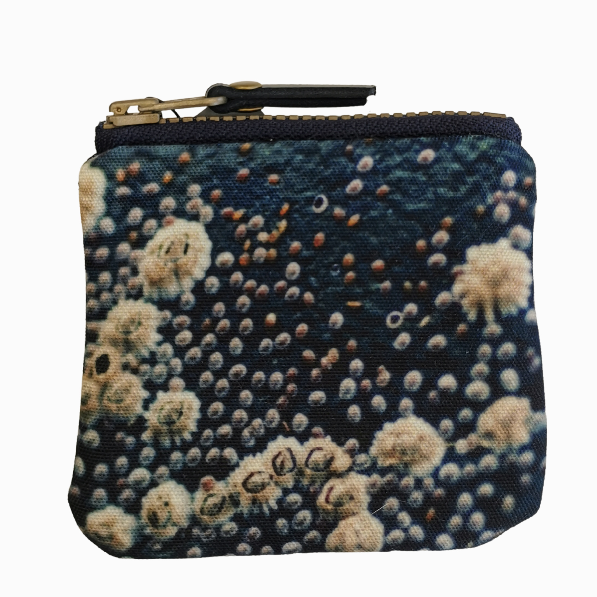 Tiny Zipper Purses by Red Ruby Rose