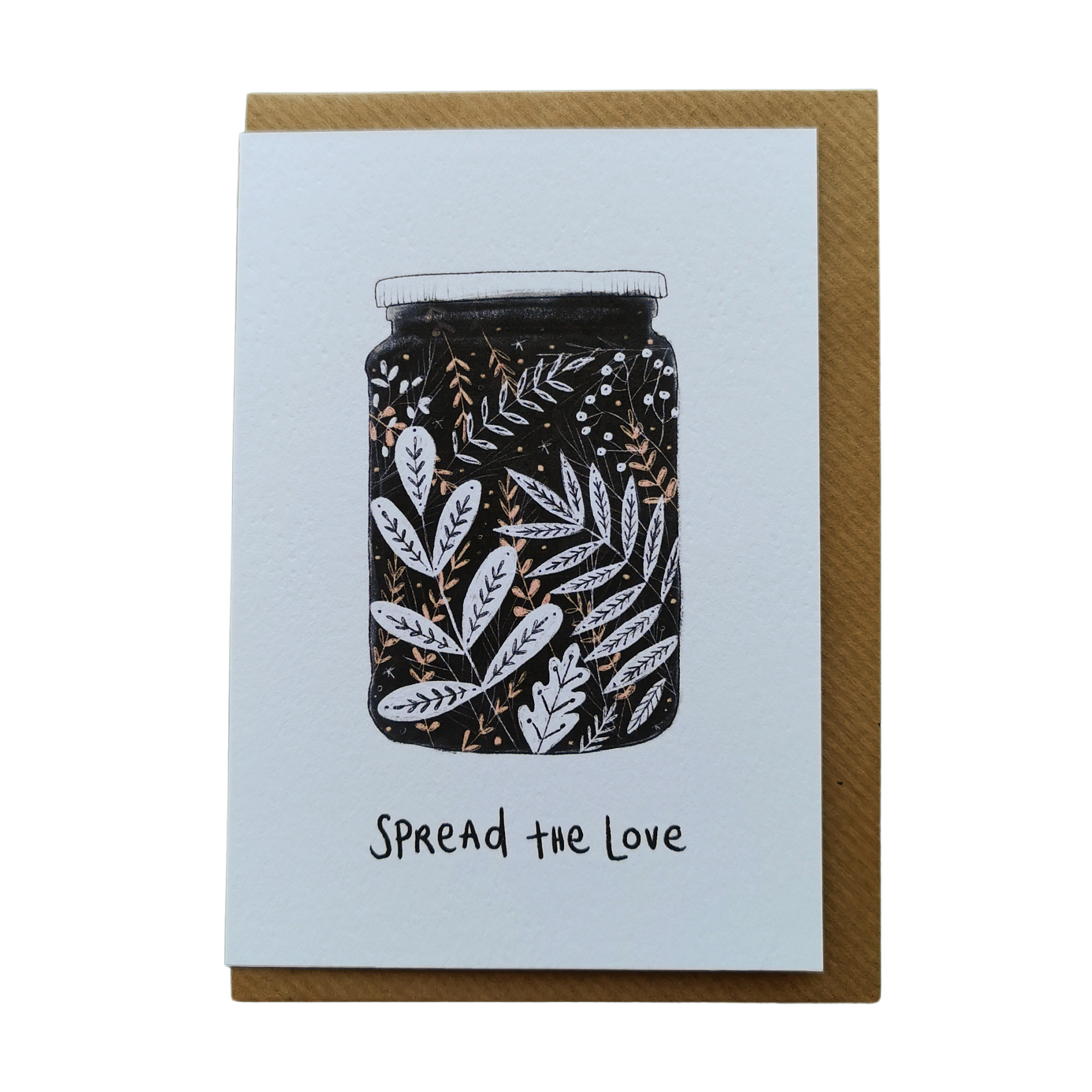 Spread the Love Card by Juniper Press
