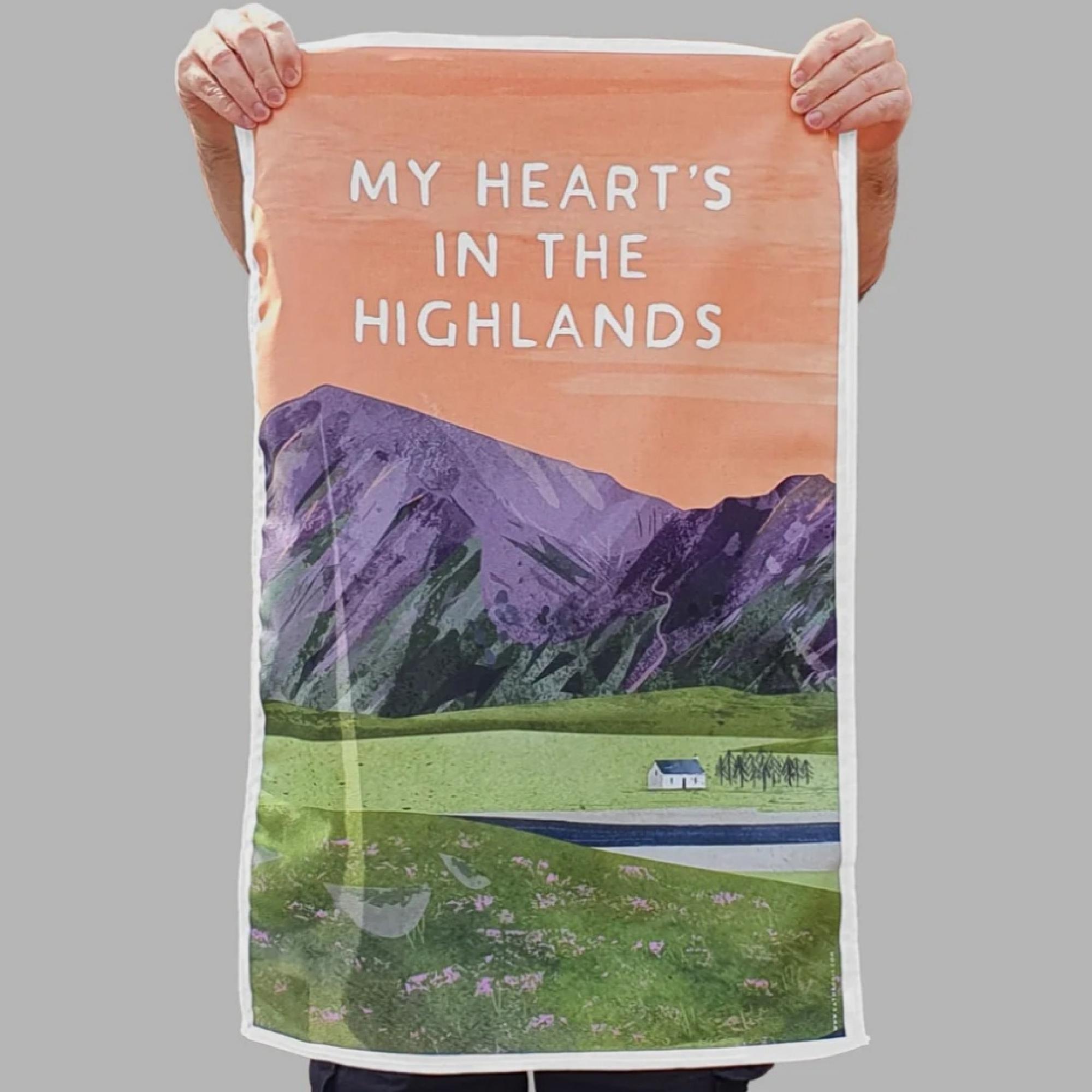 Scottish Quotes Tea Towels