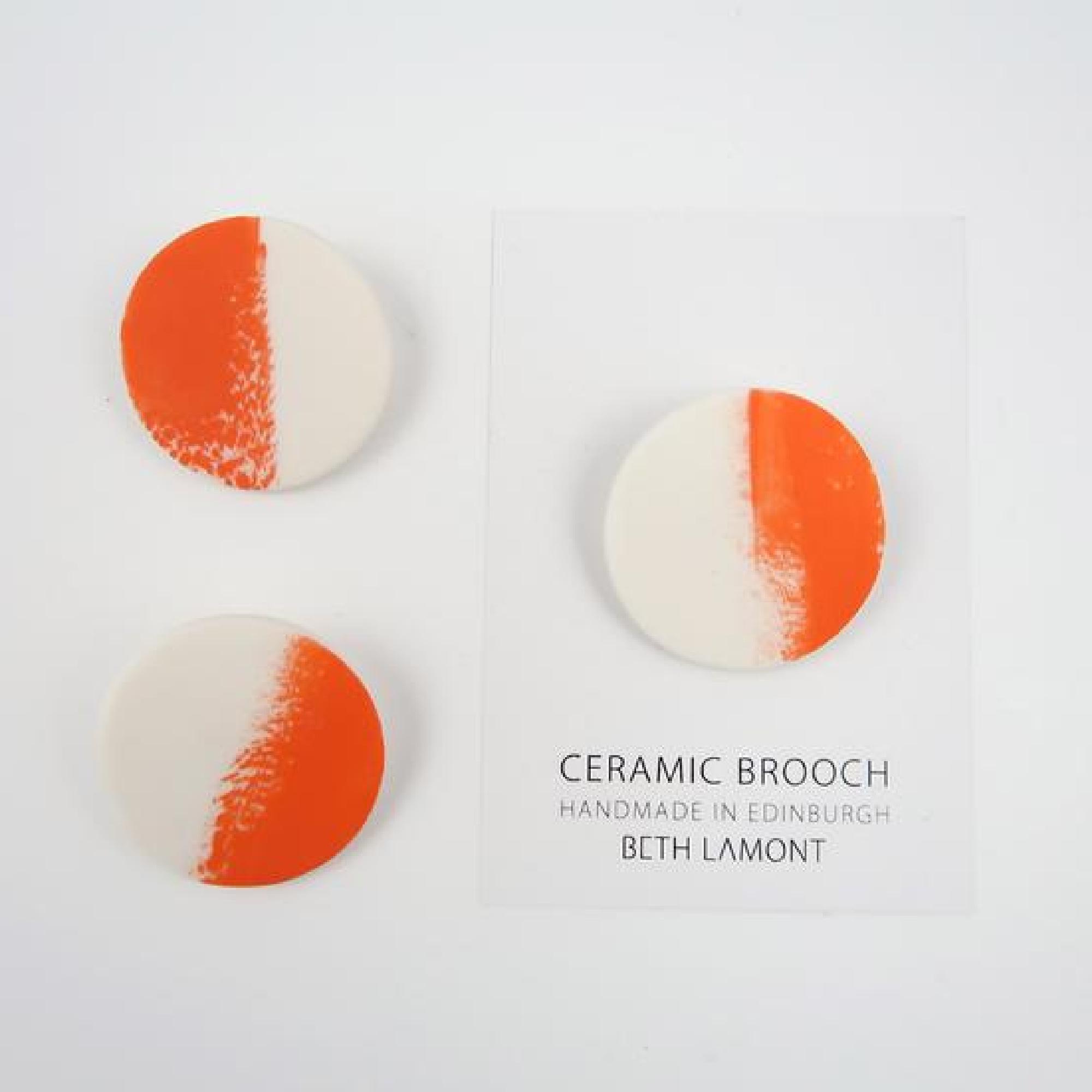 Brush Stroke Brooch by Beth Lamont