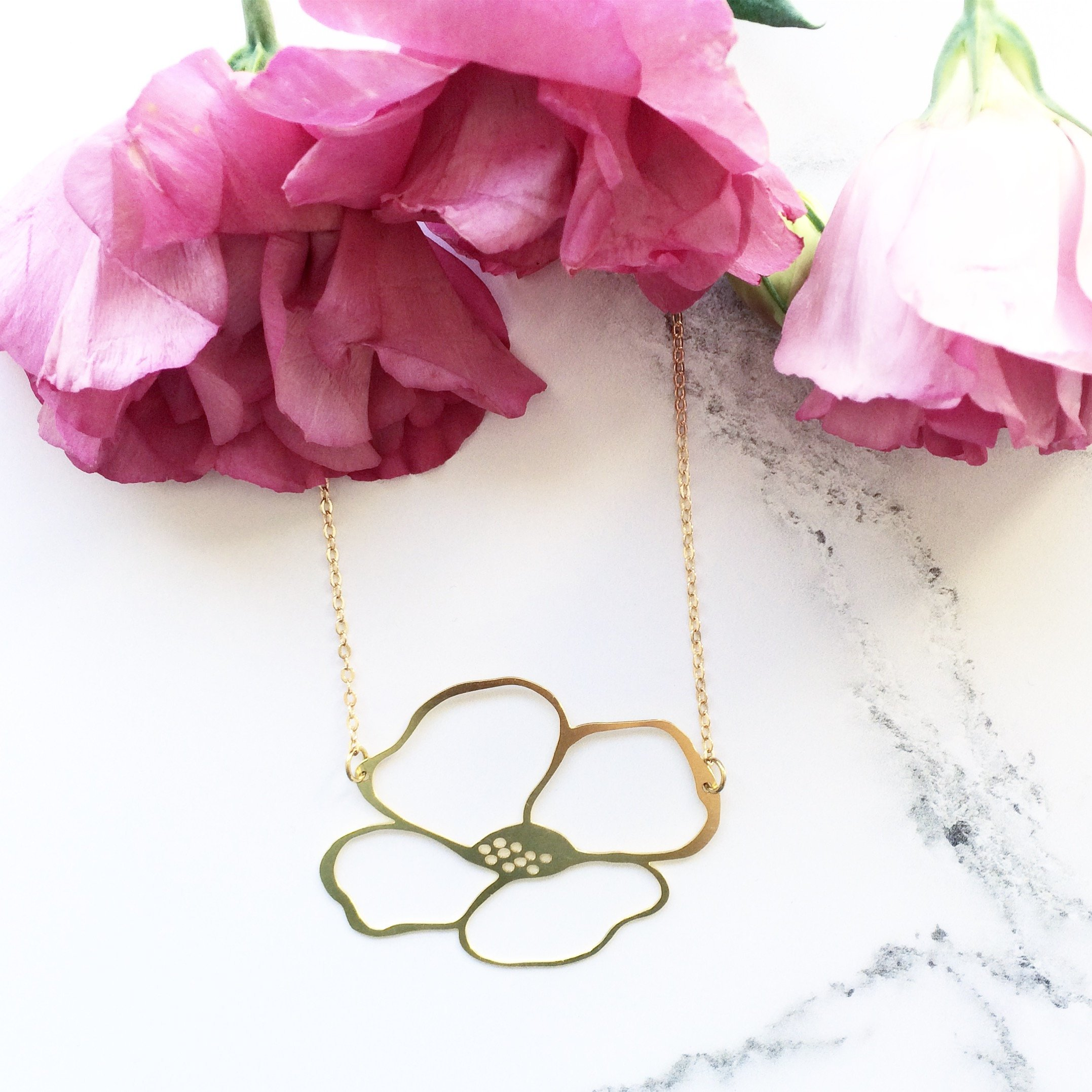 Anemone Necklace by Mica Peet