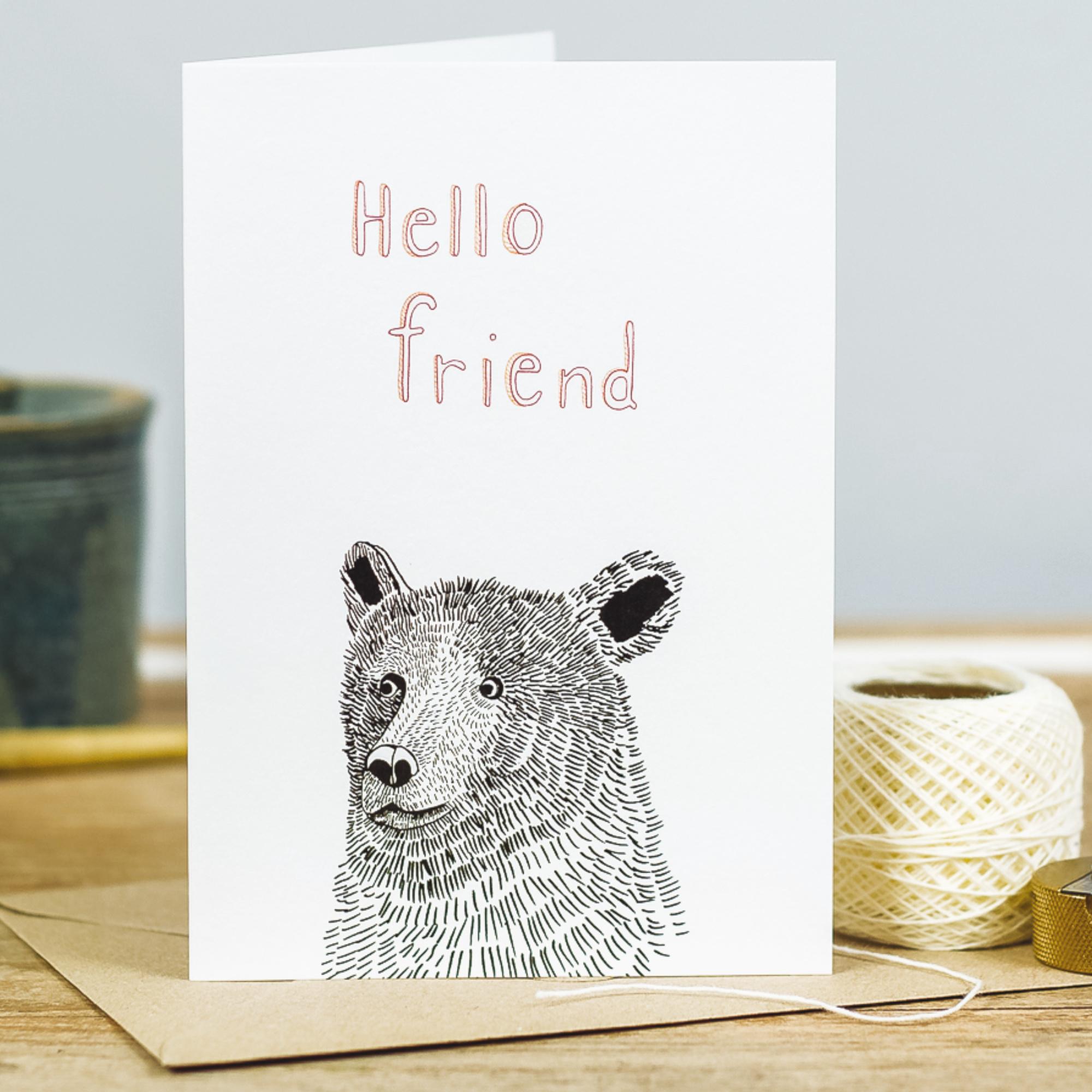 Card - Hello Friend