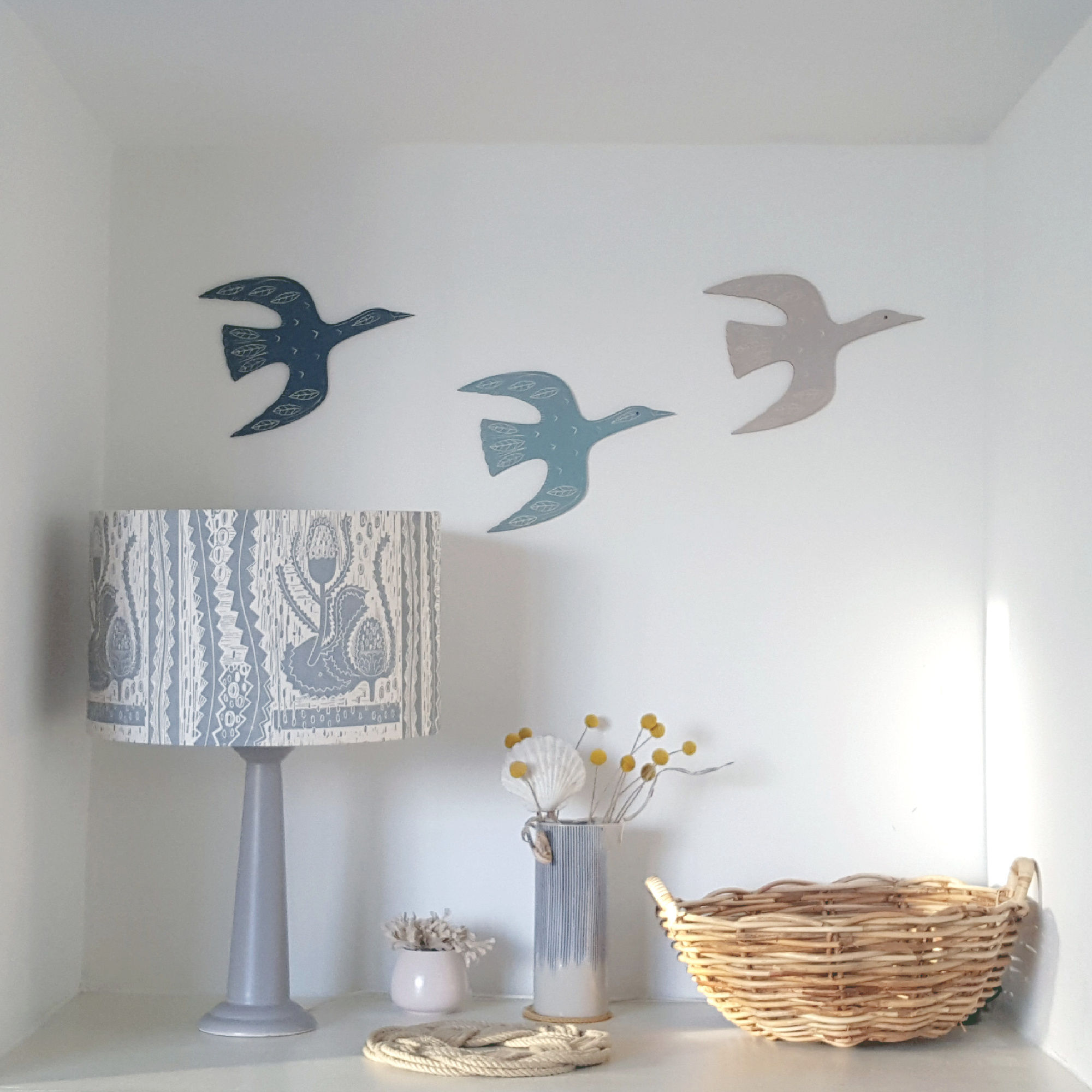 Wall Mounted Goose by Kate Millbank