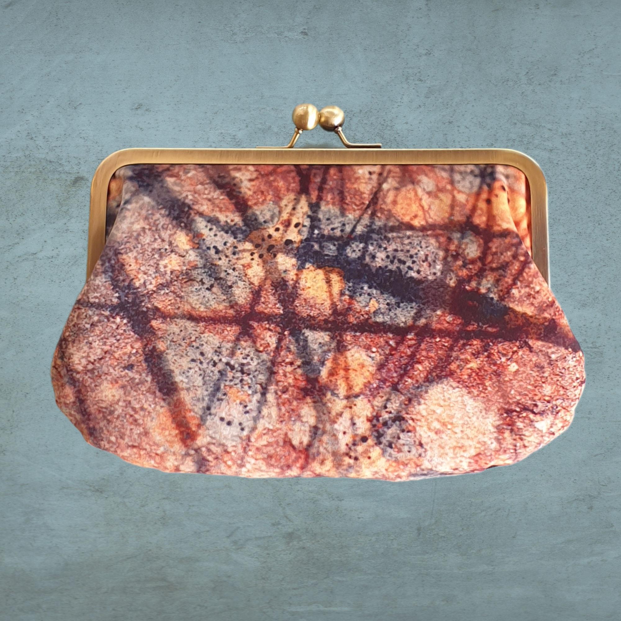 Velvet Kisslock Shoulder Bags by Red Ruby Rose