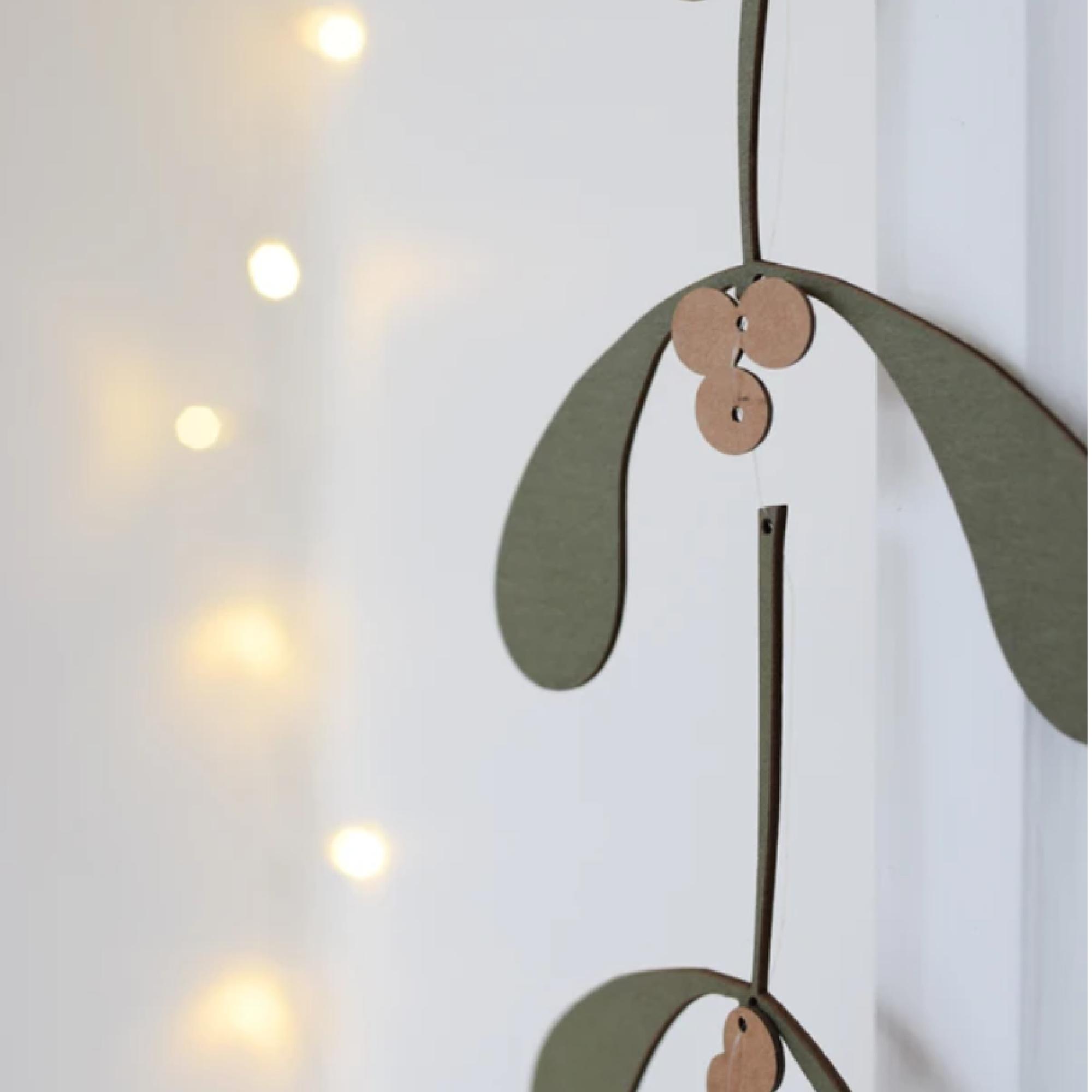 Mistletoe Winter Treasure by Hannah Nunn