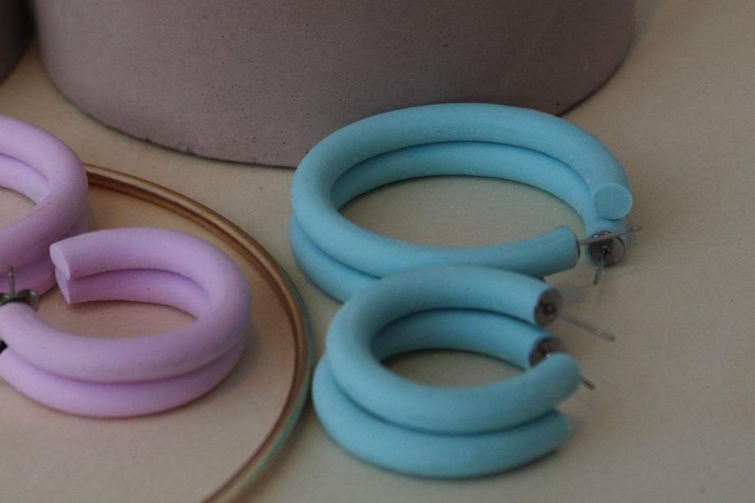 Pastel Hoops by Wear With Grace