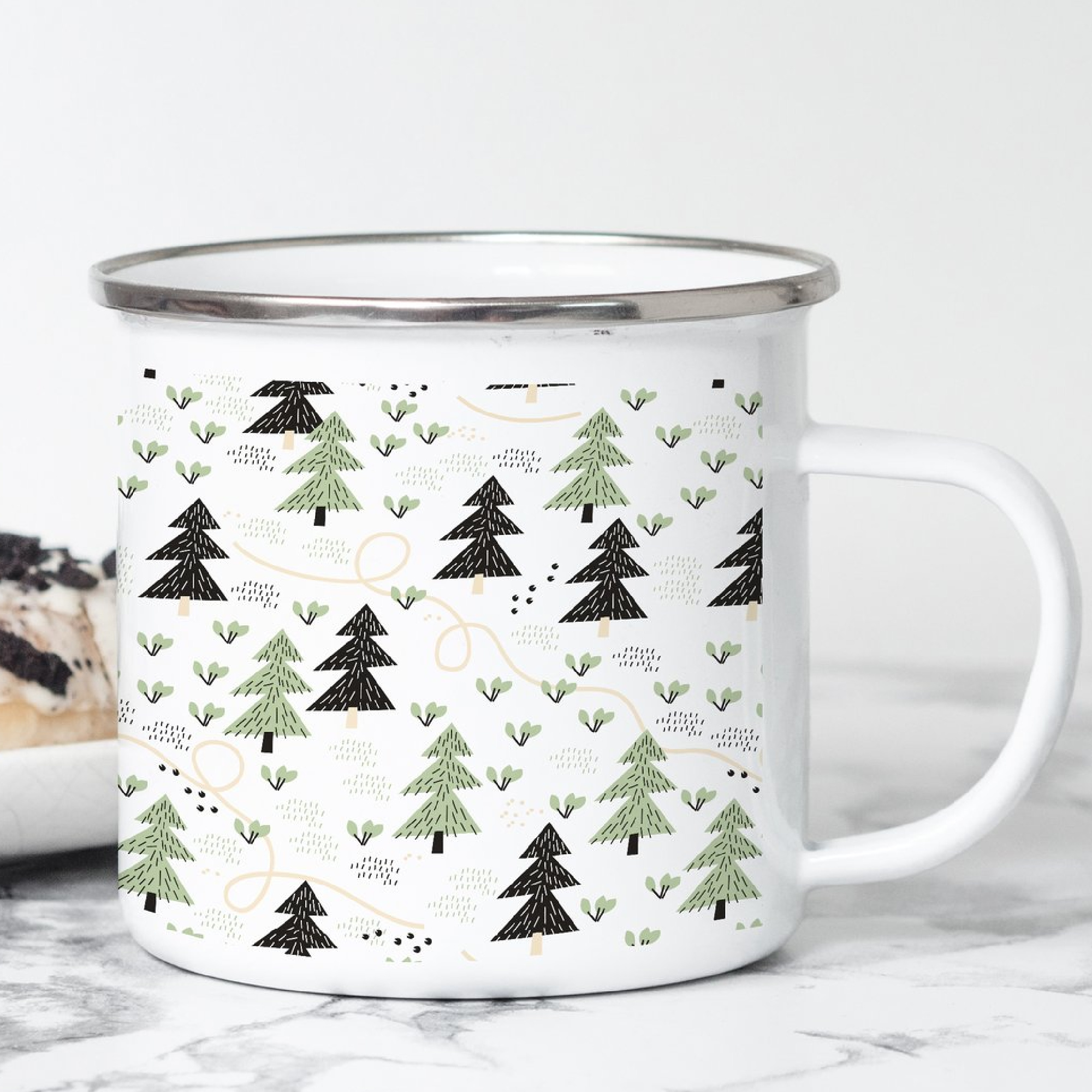 Mountain / Adventure Enamel Mugs