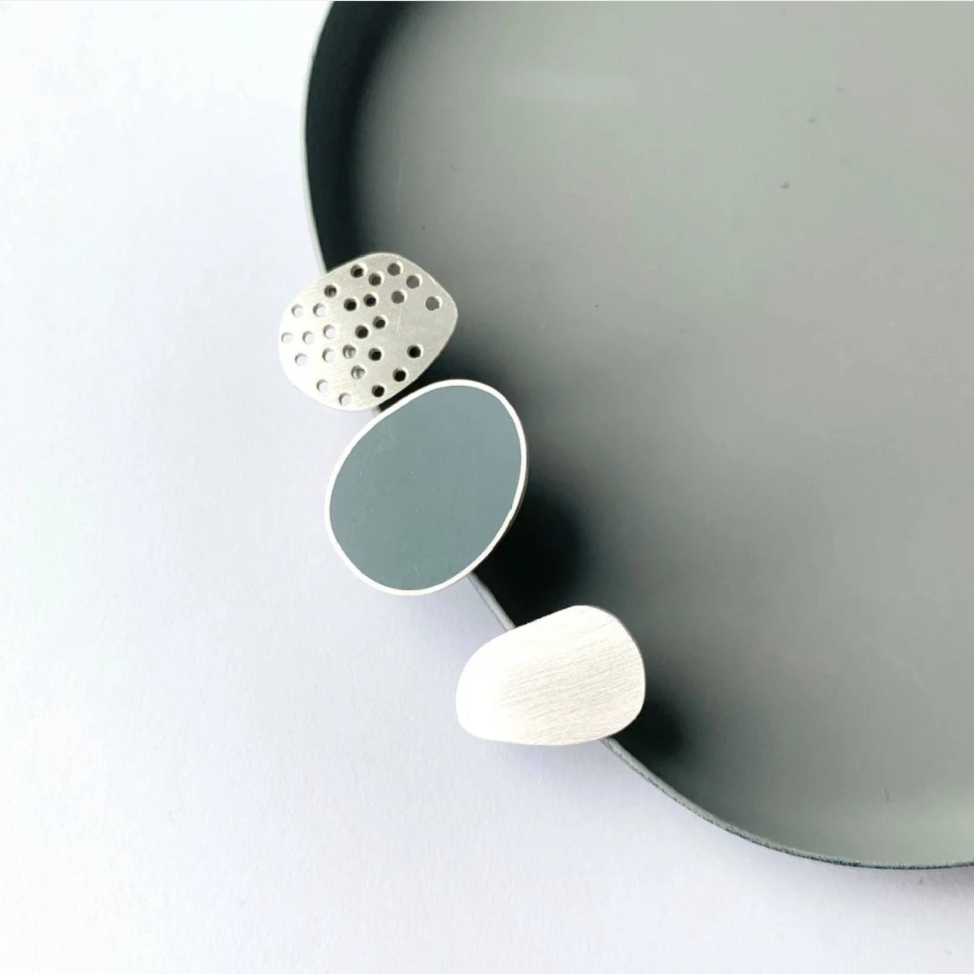 Trio of Brooches by Claire Lowe