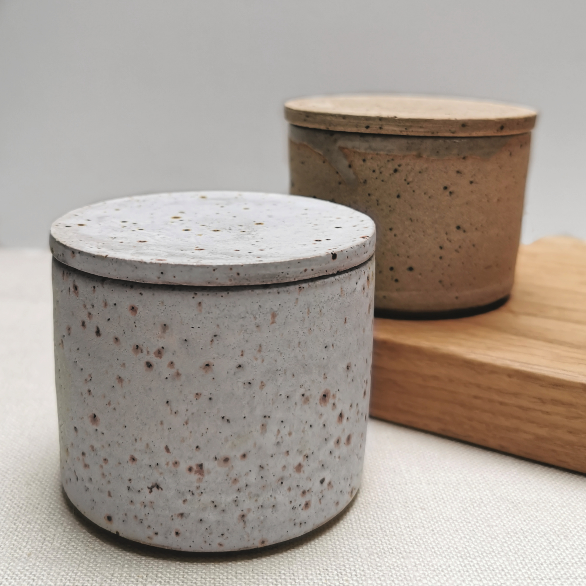Jars by Aku Ceramics