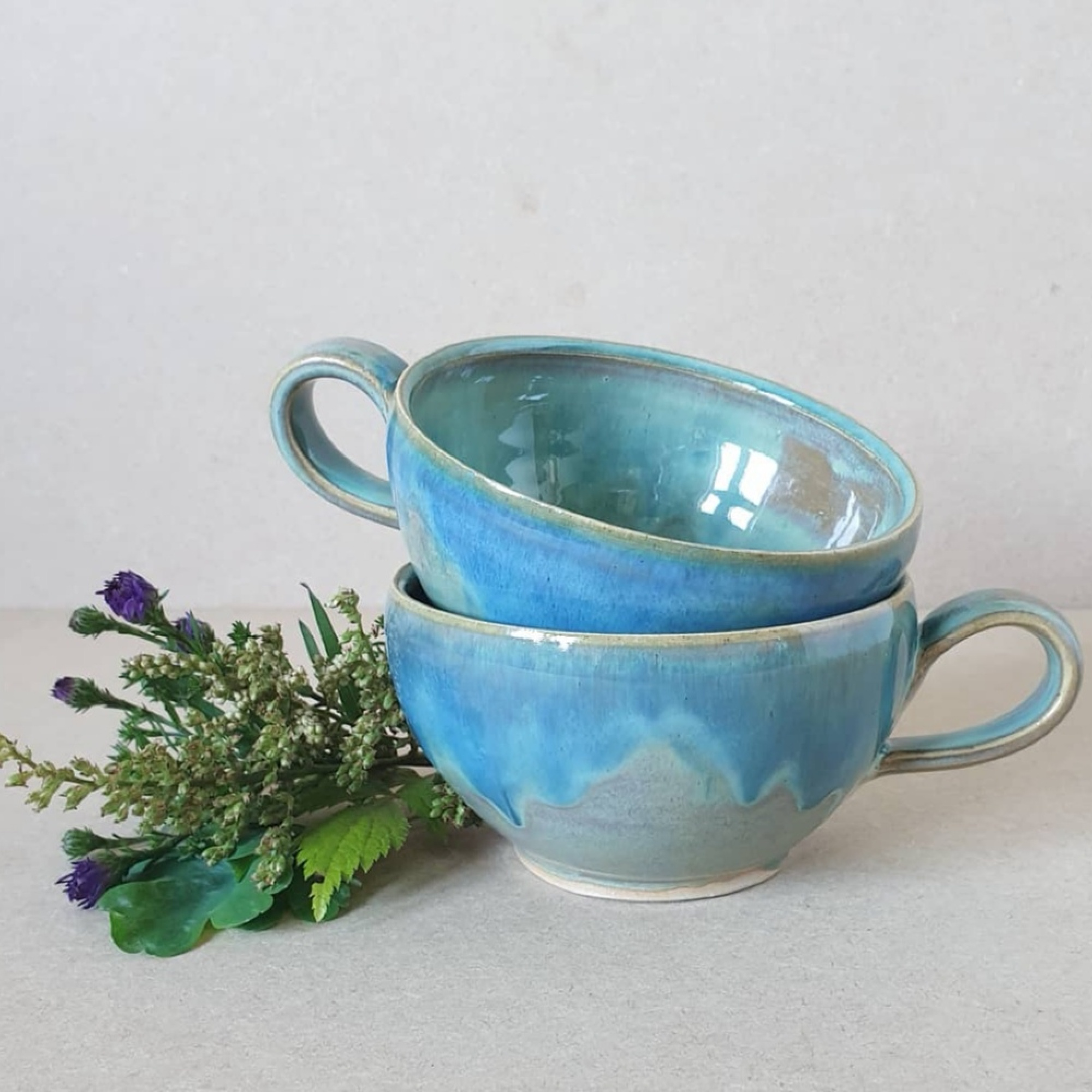 Highland Sea Ceramic Cup
