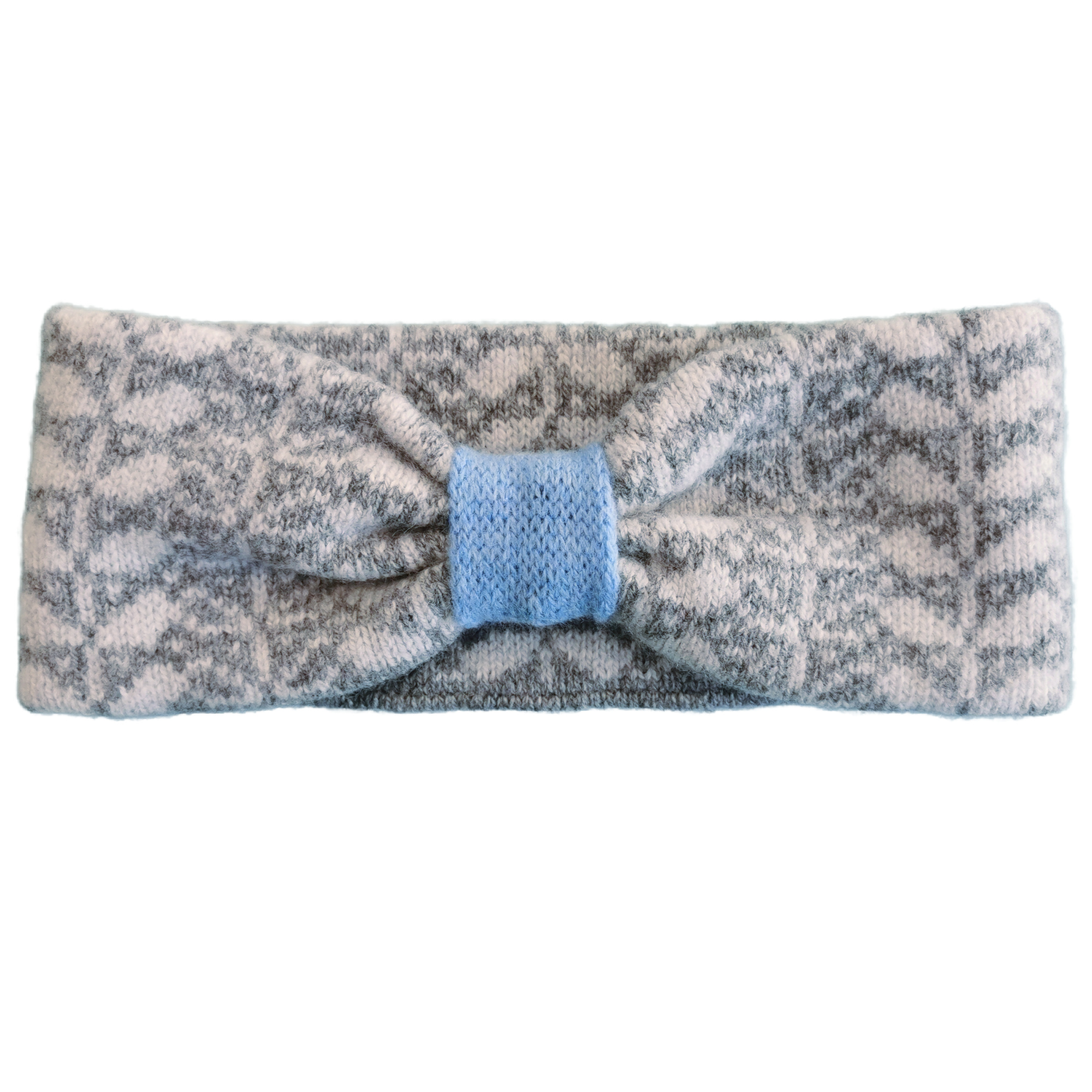 Leaf Design Headband by Scarlet Knitwear