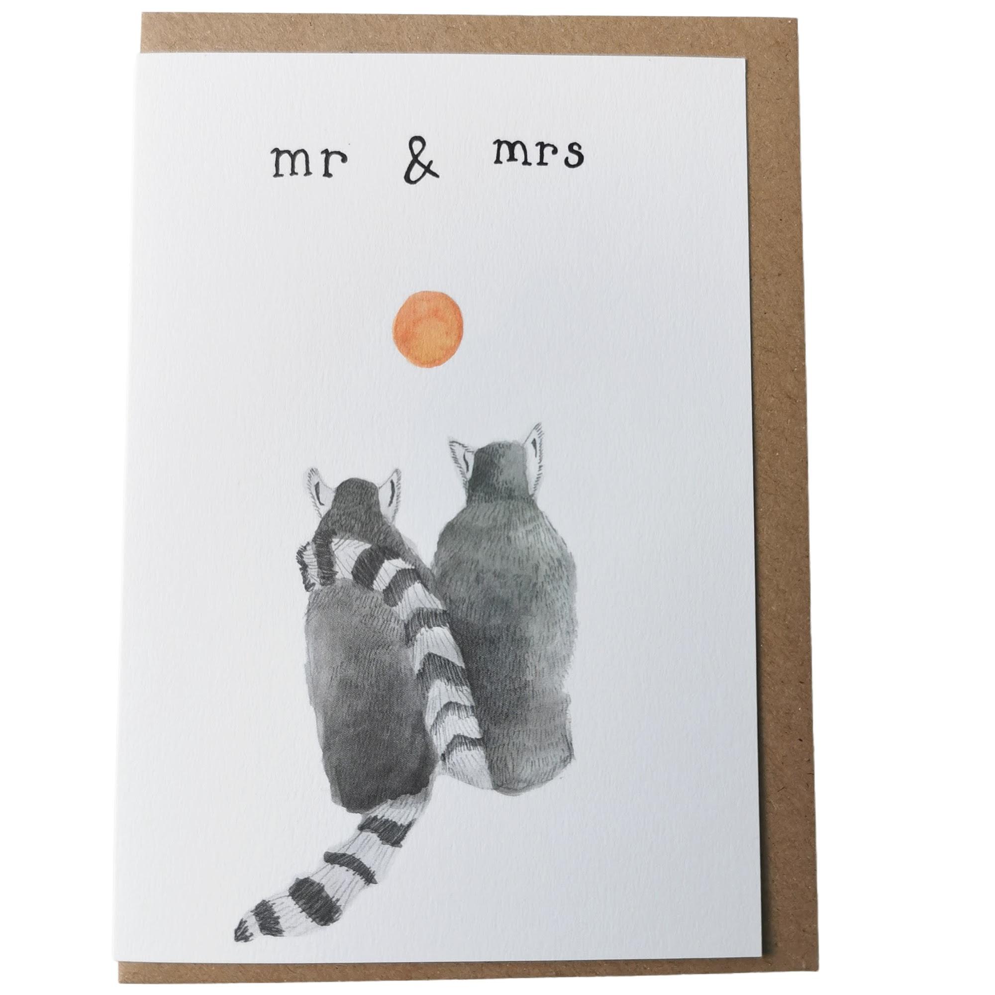 Mr and Mrs Dear Prudence Card
