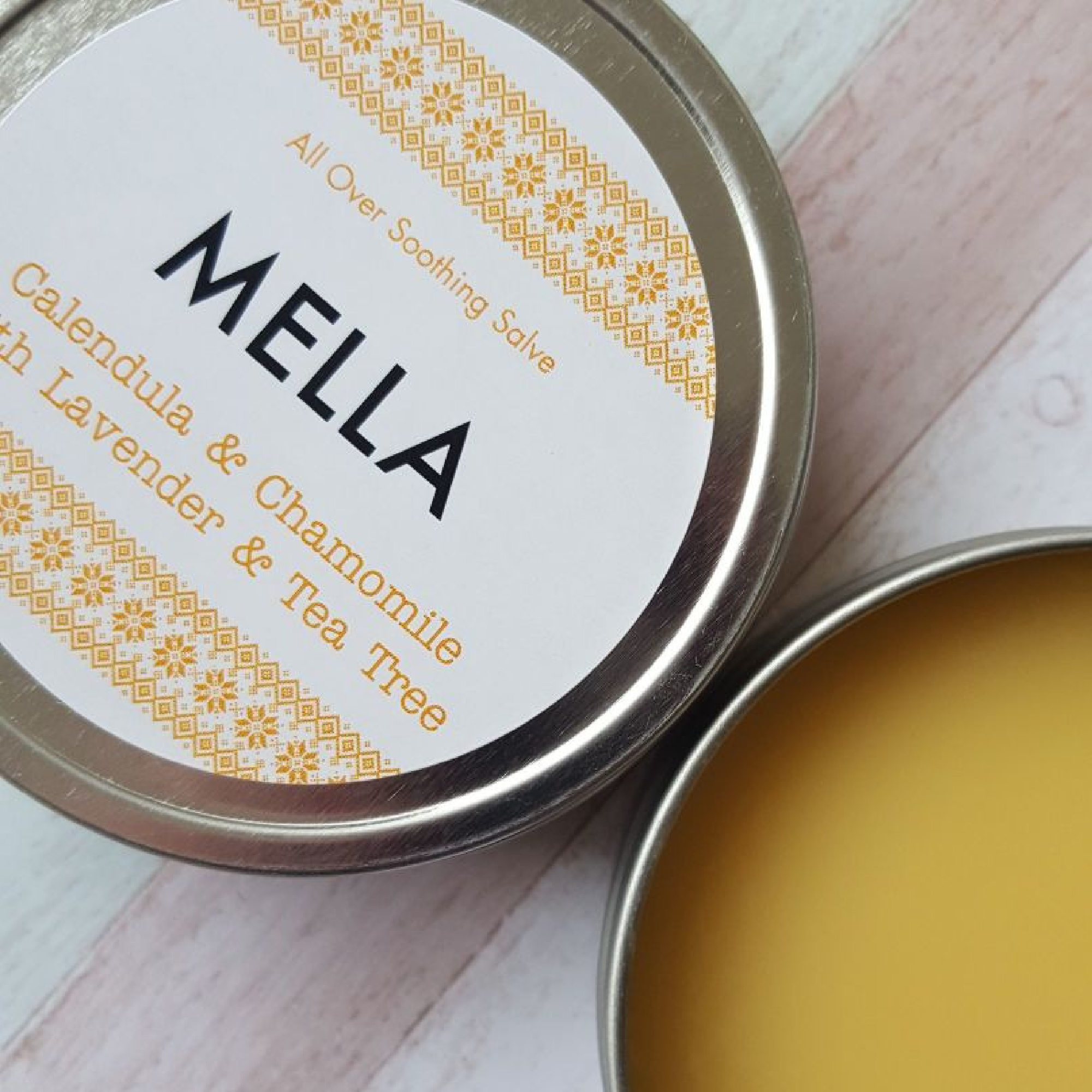 Soothing Salve with Chamomile and Calendula by Mella