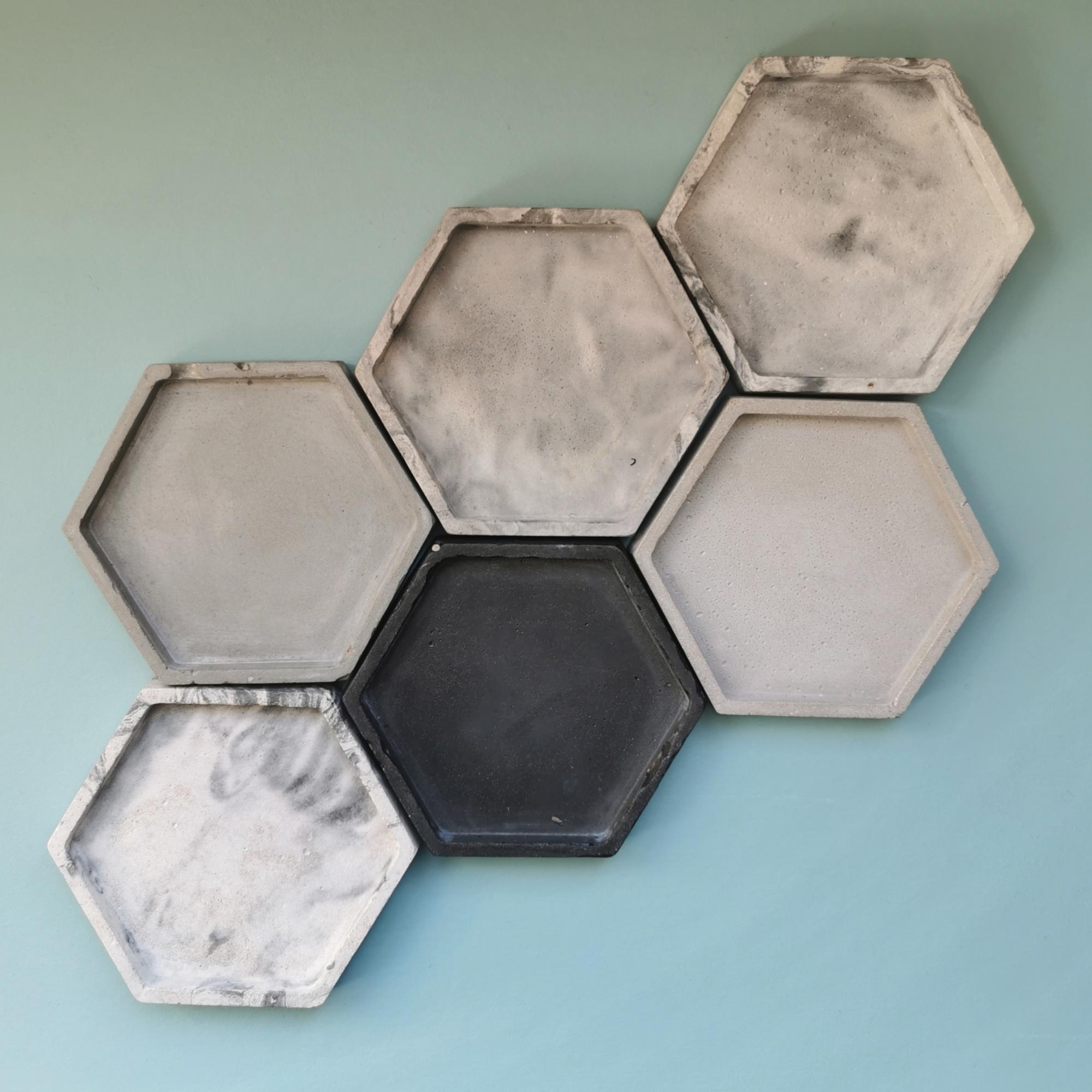 Concrete Trinket Dish by Zoe Scott Designs