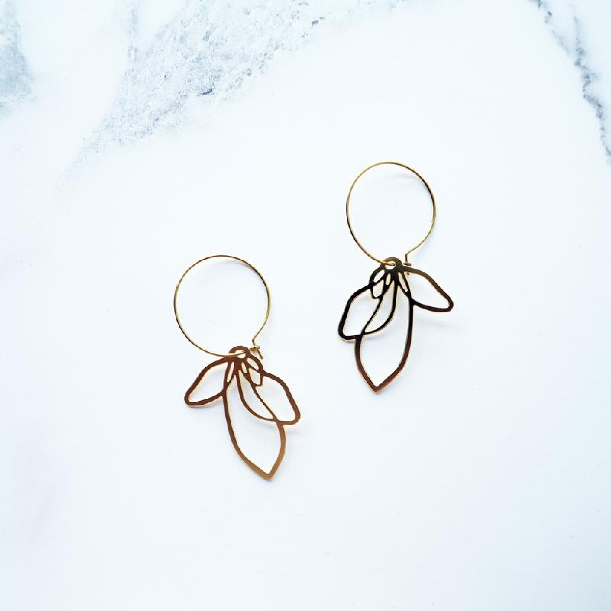 Petal Earrings by Mica Peet