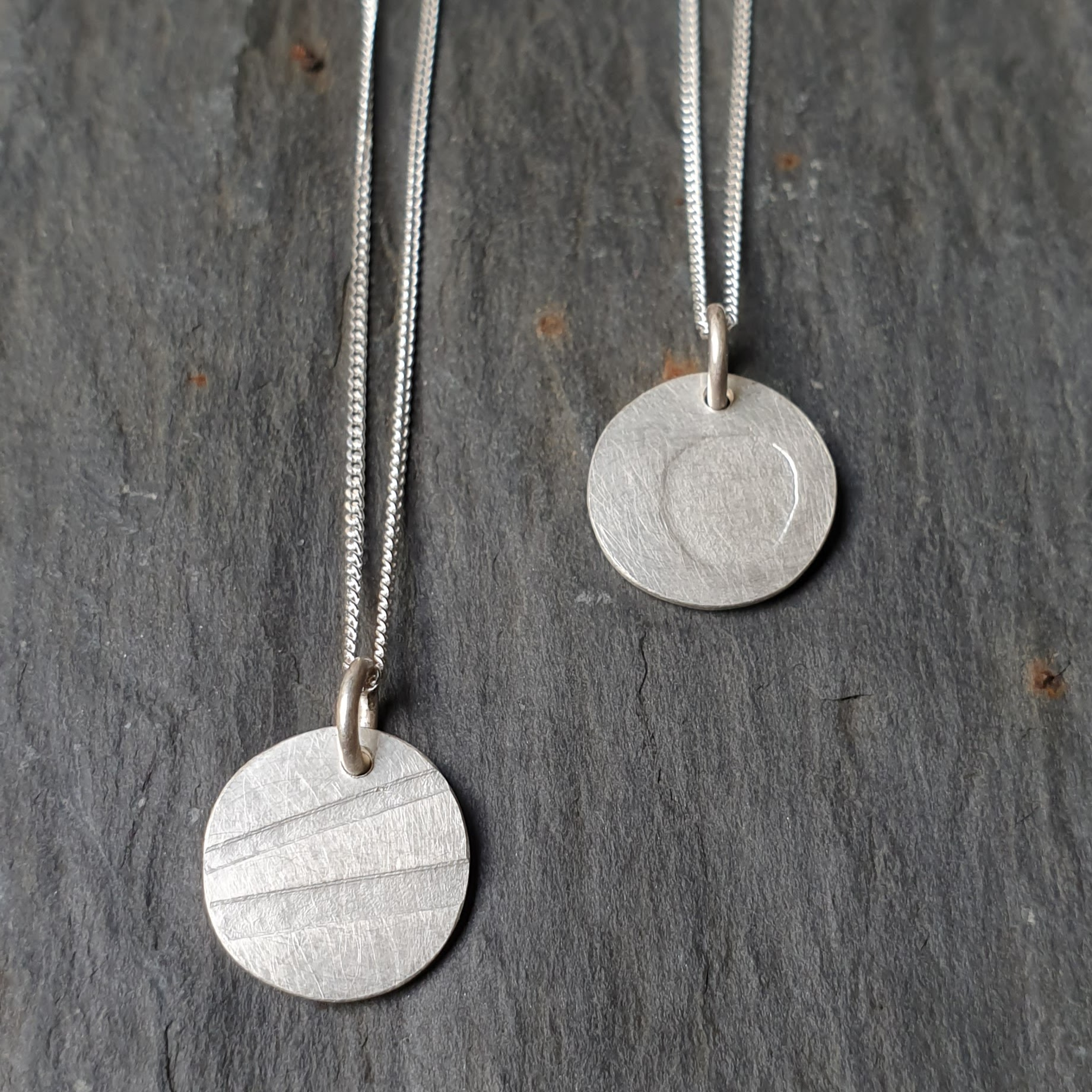 Pebble necklace by Tina MacLeod