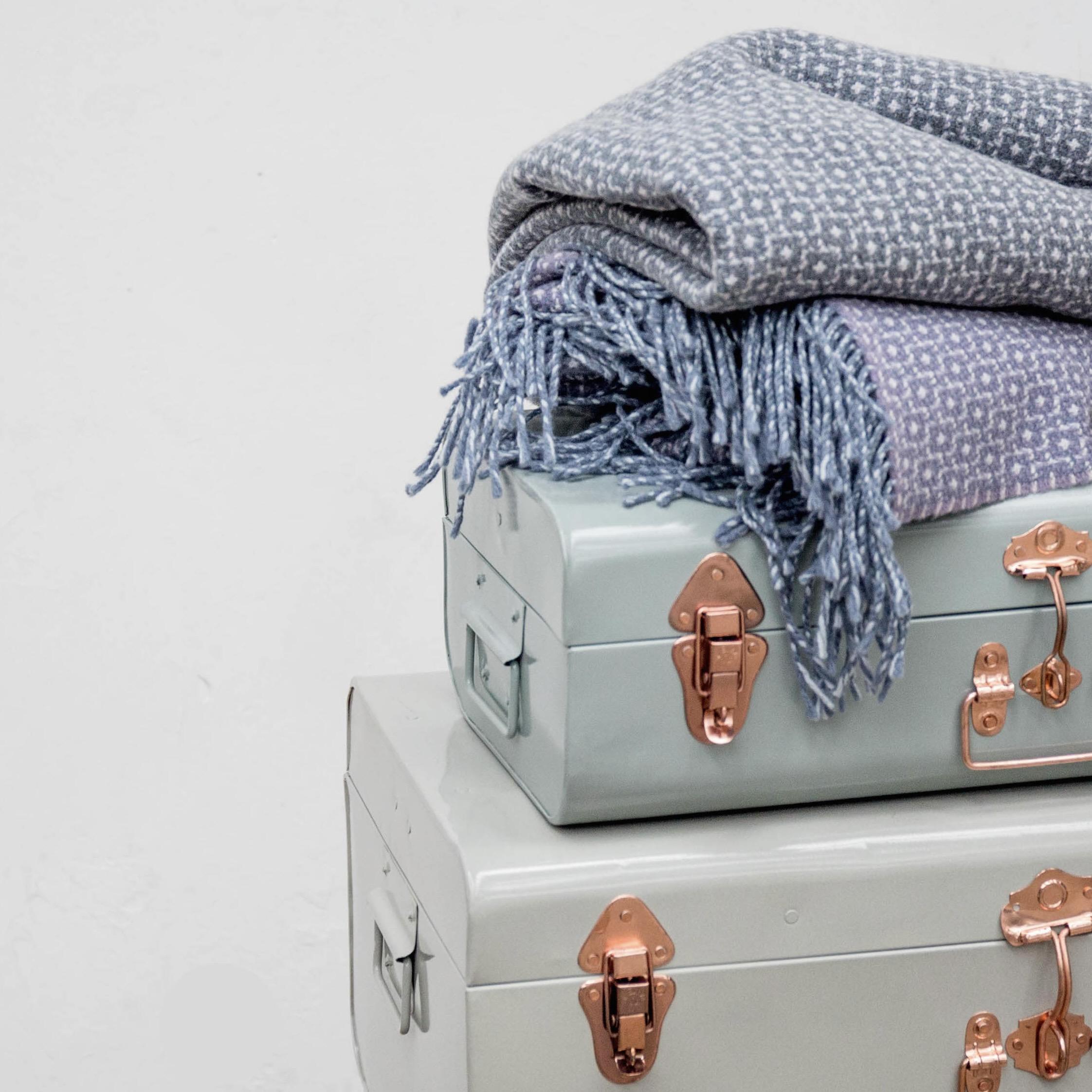 Heirloom Blanket by Warped Textiles