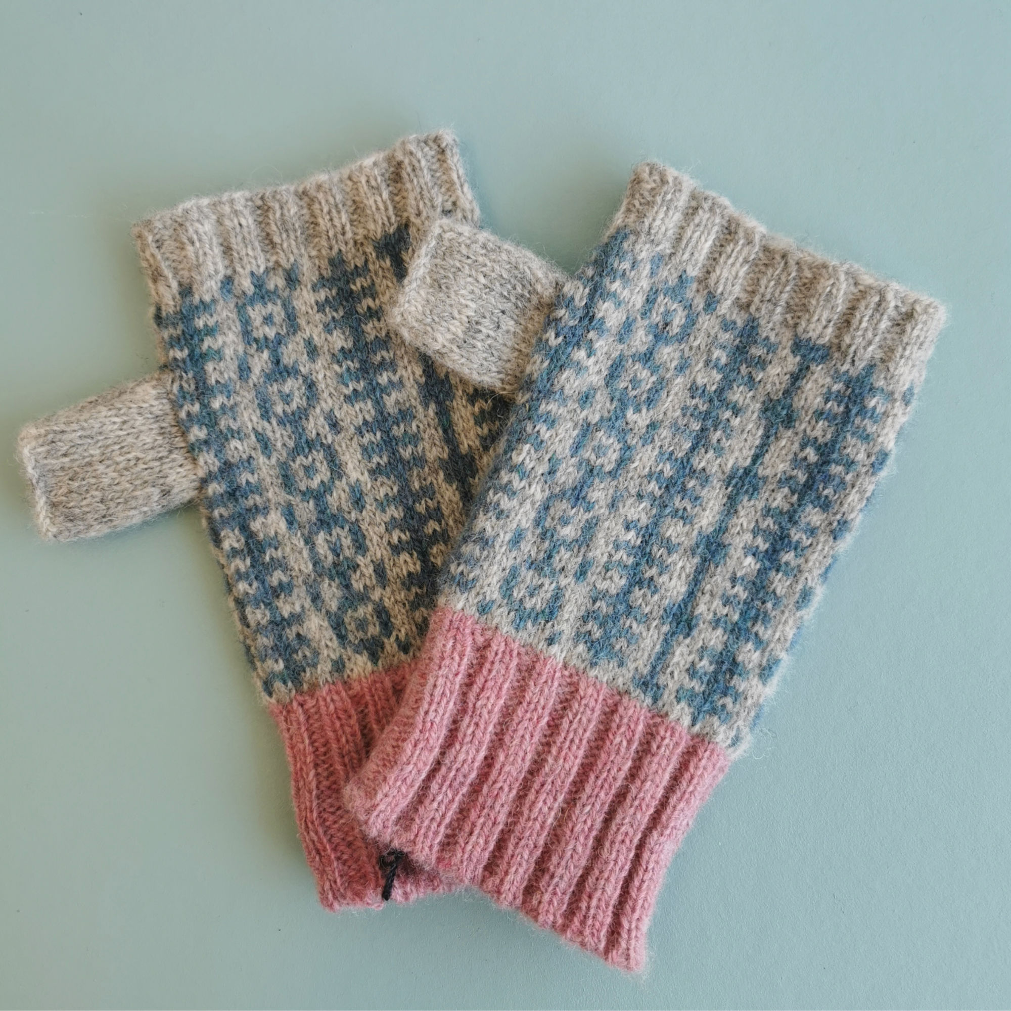 Fingerless Gloves by Scarlet Knitwear