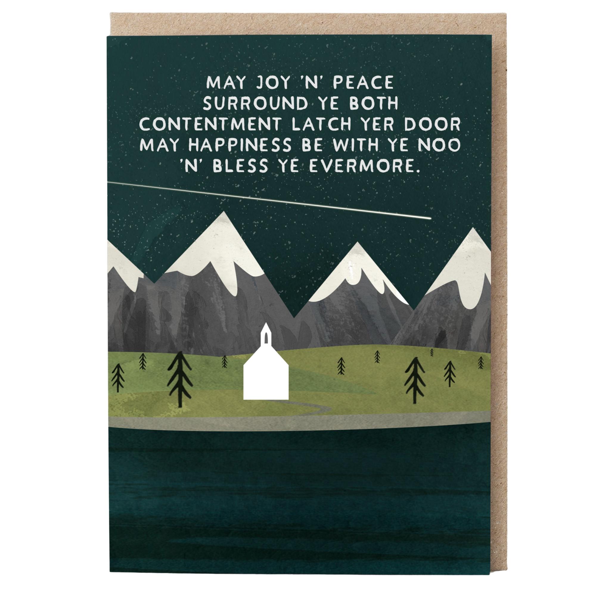 Card - May Joy 'n' Peace