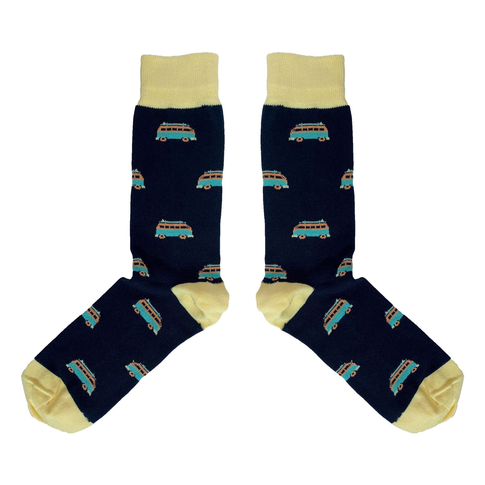 Campervan Socks UK 7.5-11.5