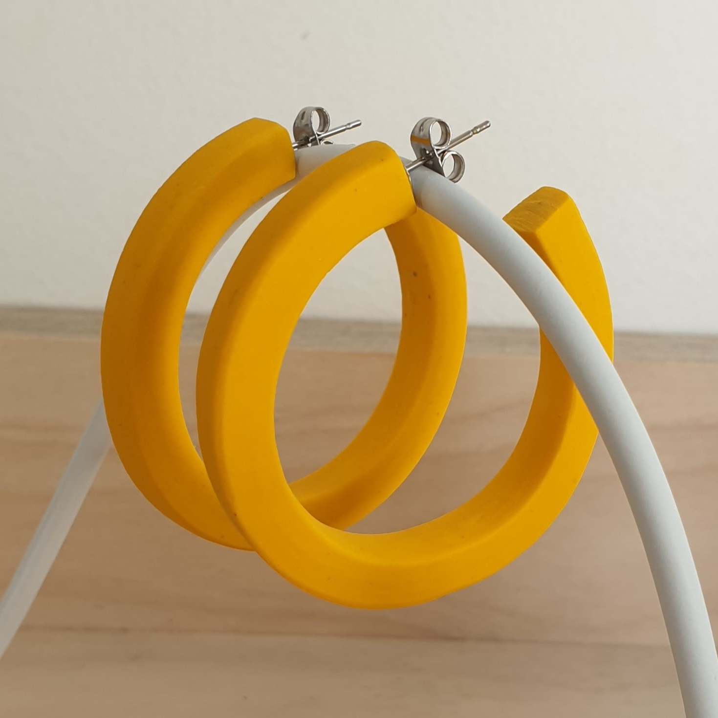 Bold Edge Hoops by Wear With Grace