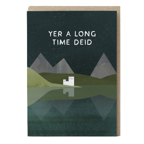 Card - Long Time Did