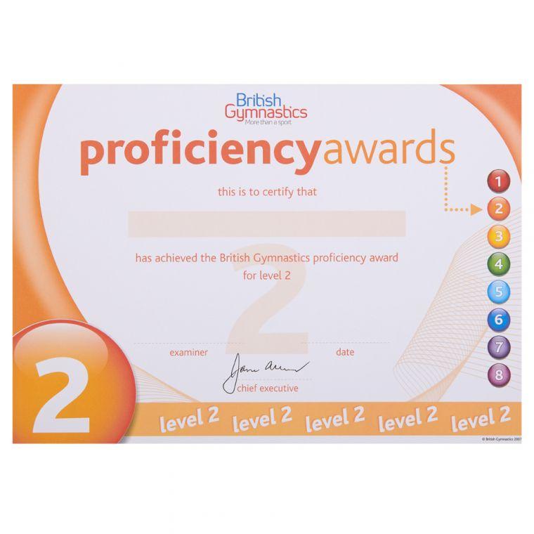 Proficiency Awards - Badges
