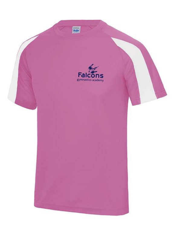 Child's Pink/White T-Shirt
