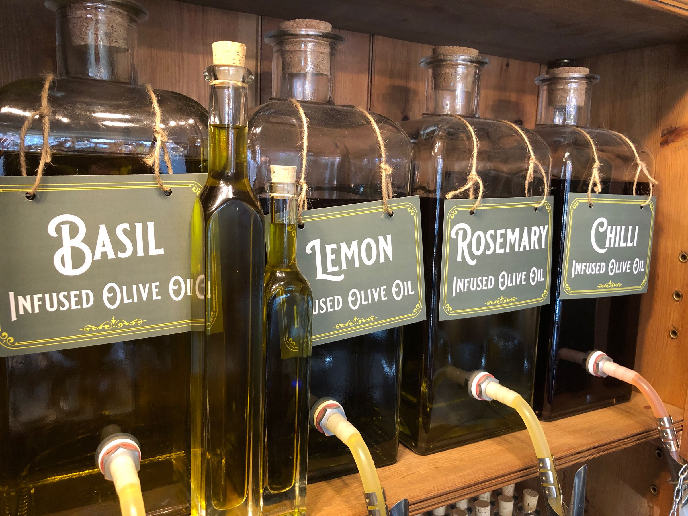 Infused Oil (Chilli, Lemon, Rosemary or Basil)