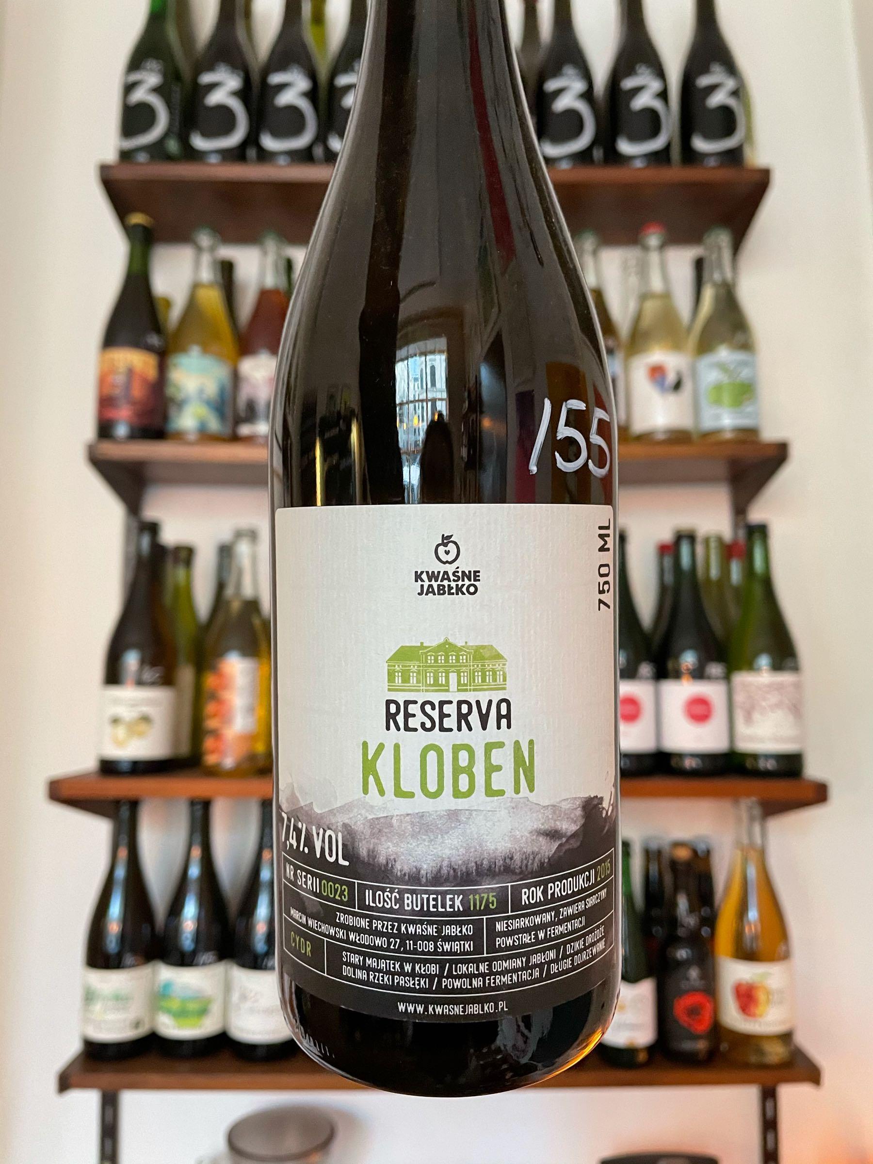 Reserve Kloben 2015 - Kwasne Jablko
