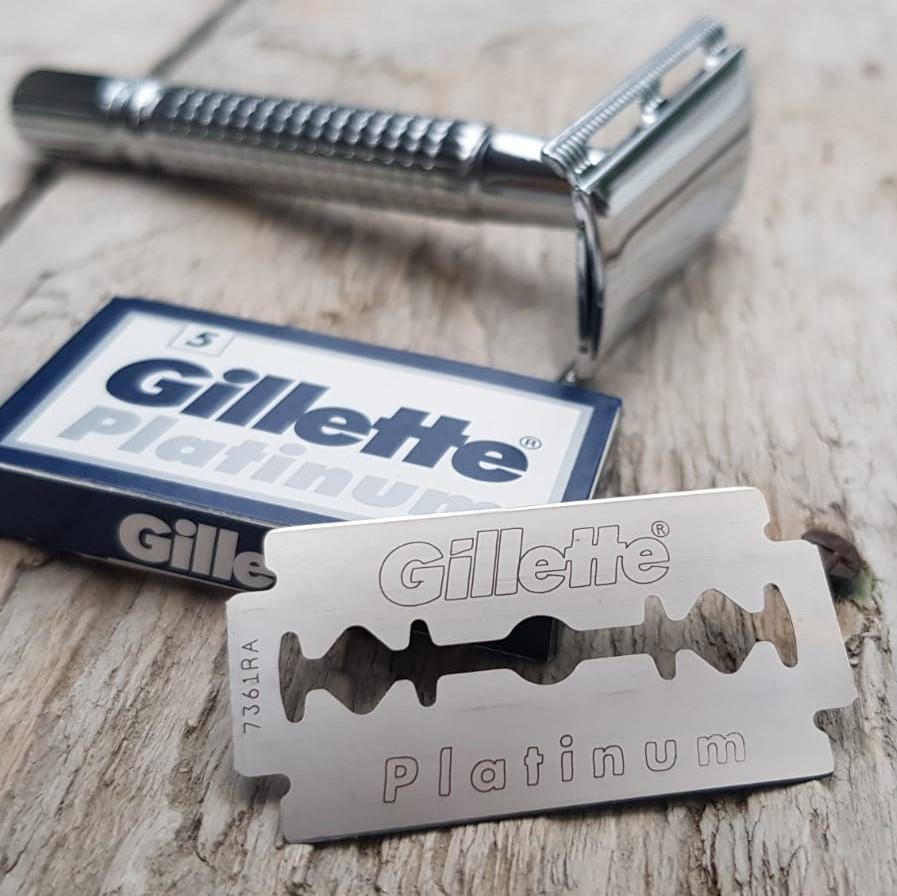Terät Gillette Platinum 5 kpl partahöylään