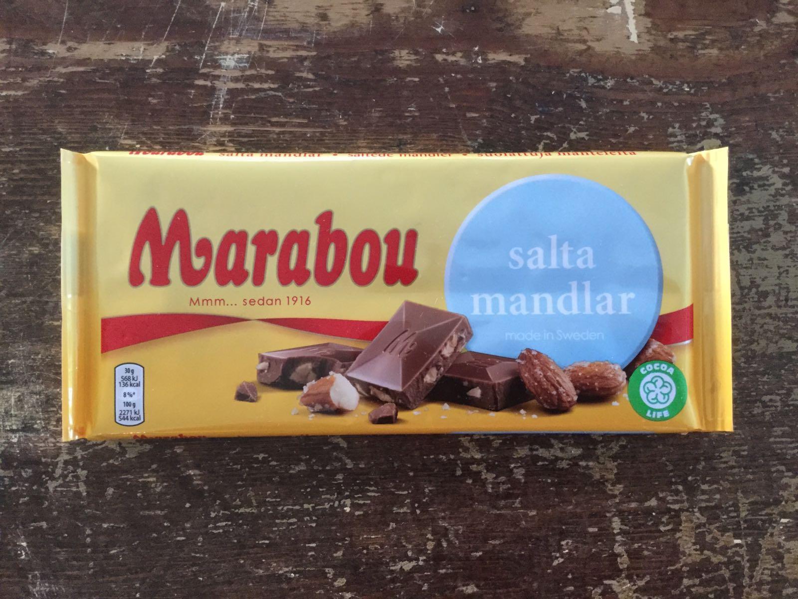 """marabou """"salta mandlar"""", 200g"""