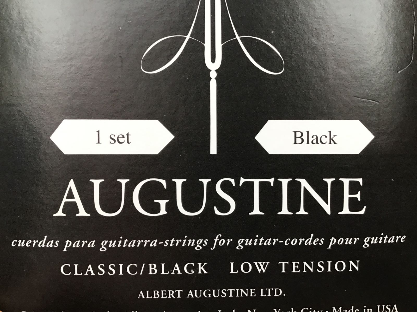 Augustine Classical Black - Low Tension