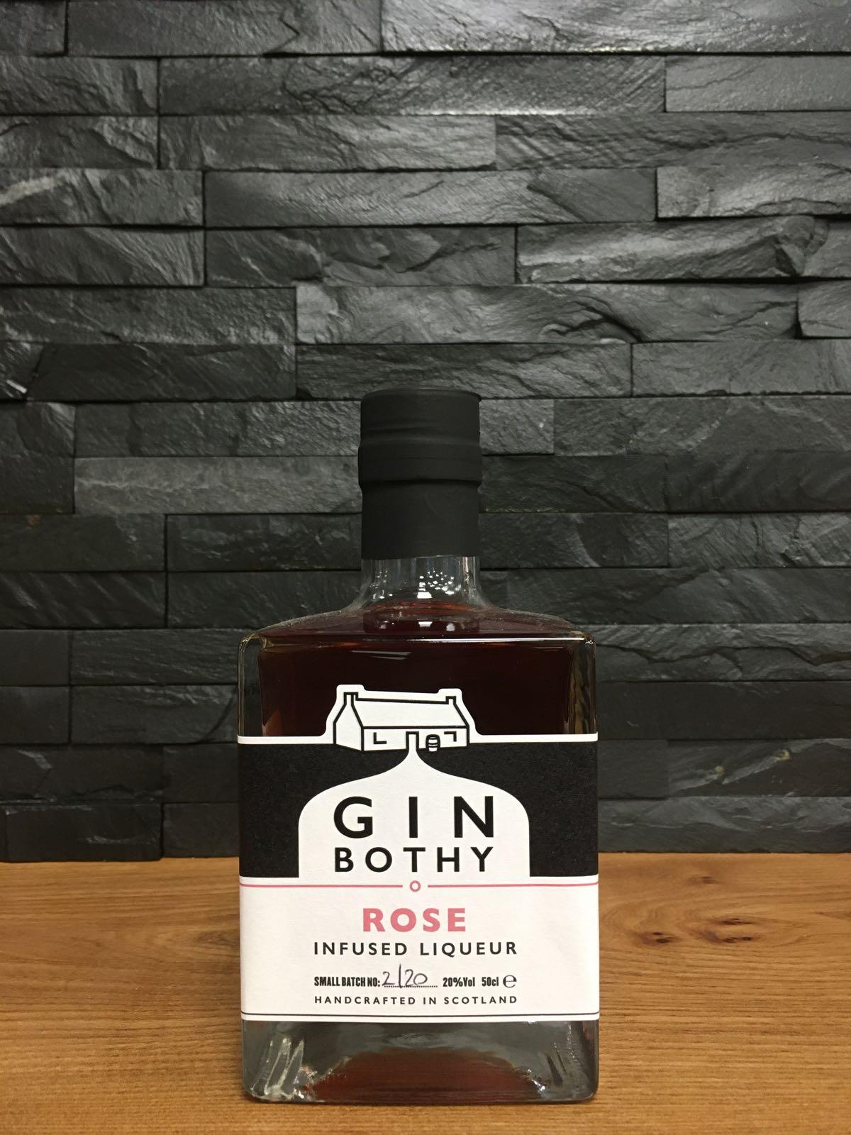 Gin Bothy Rose Gin Liqueur 50cl