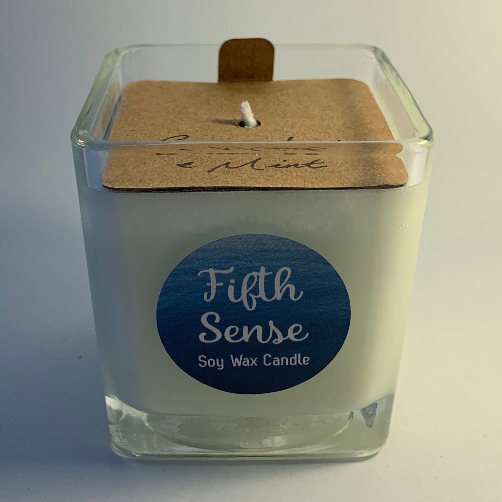 'Cucumber & Mint' Fifth Sense Scented Candle (Was £8.00)