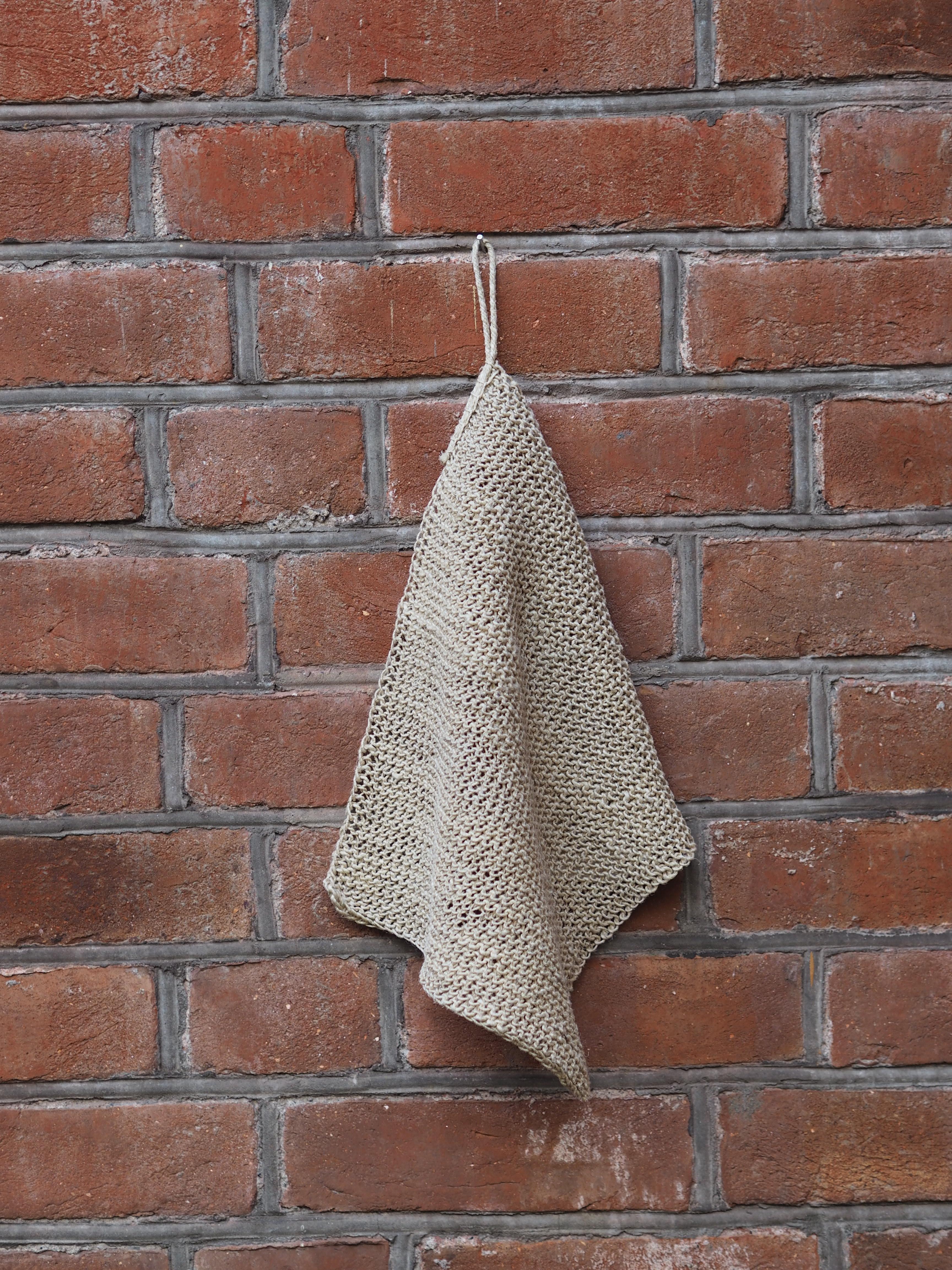 Hemp Wash Cloth Set - Natural, The Dharma Door