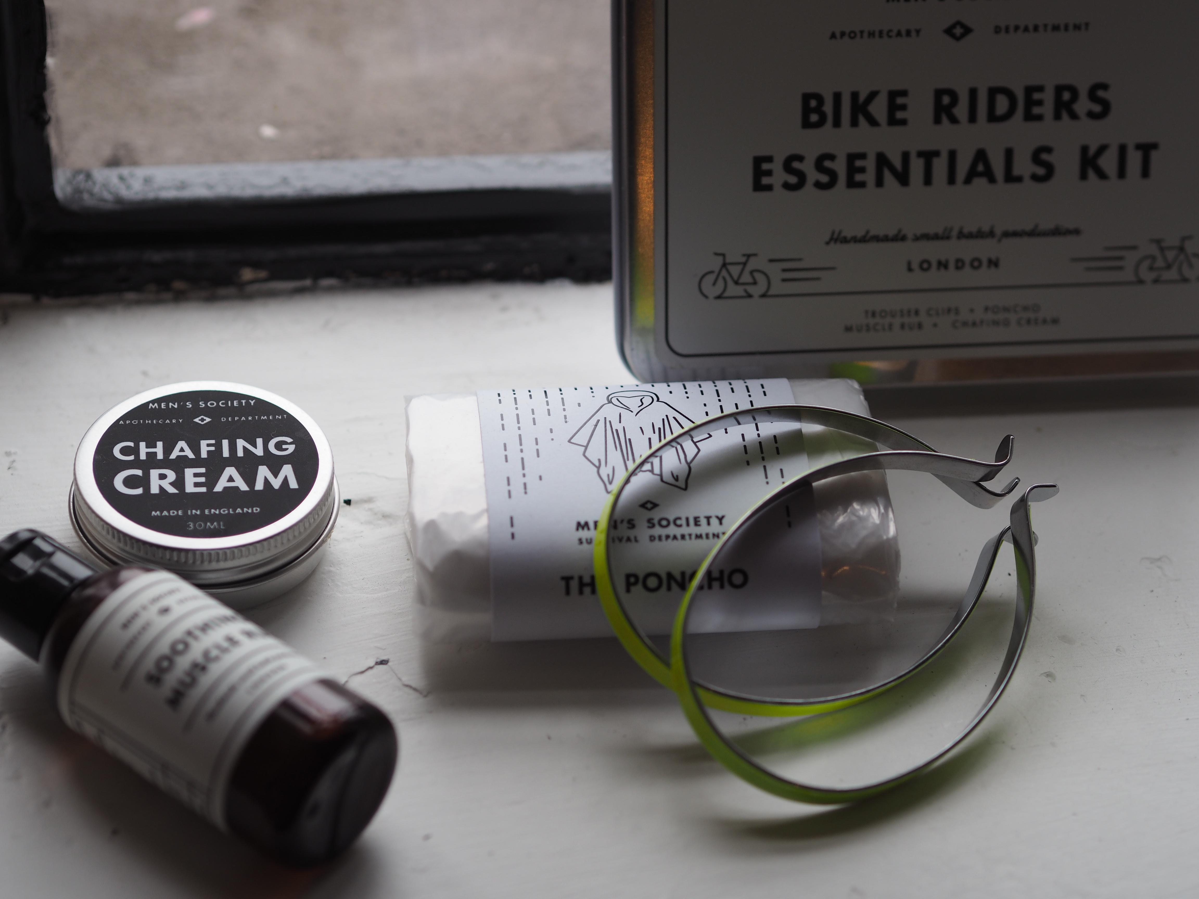 Bike riders essentials kit