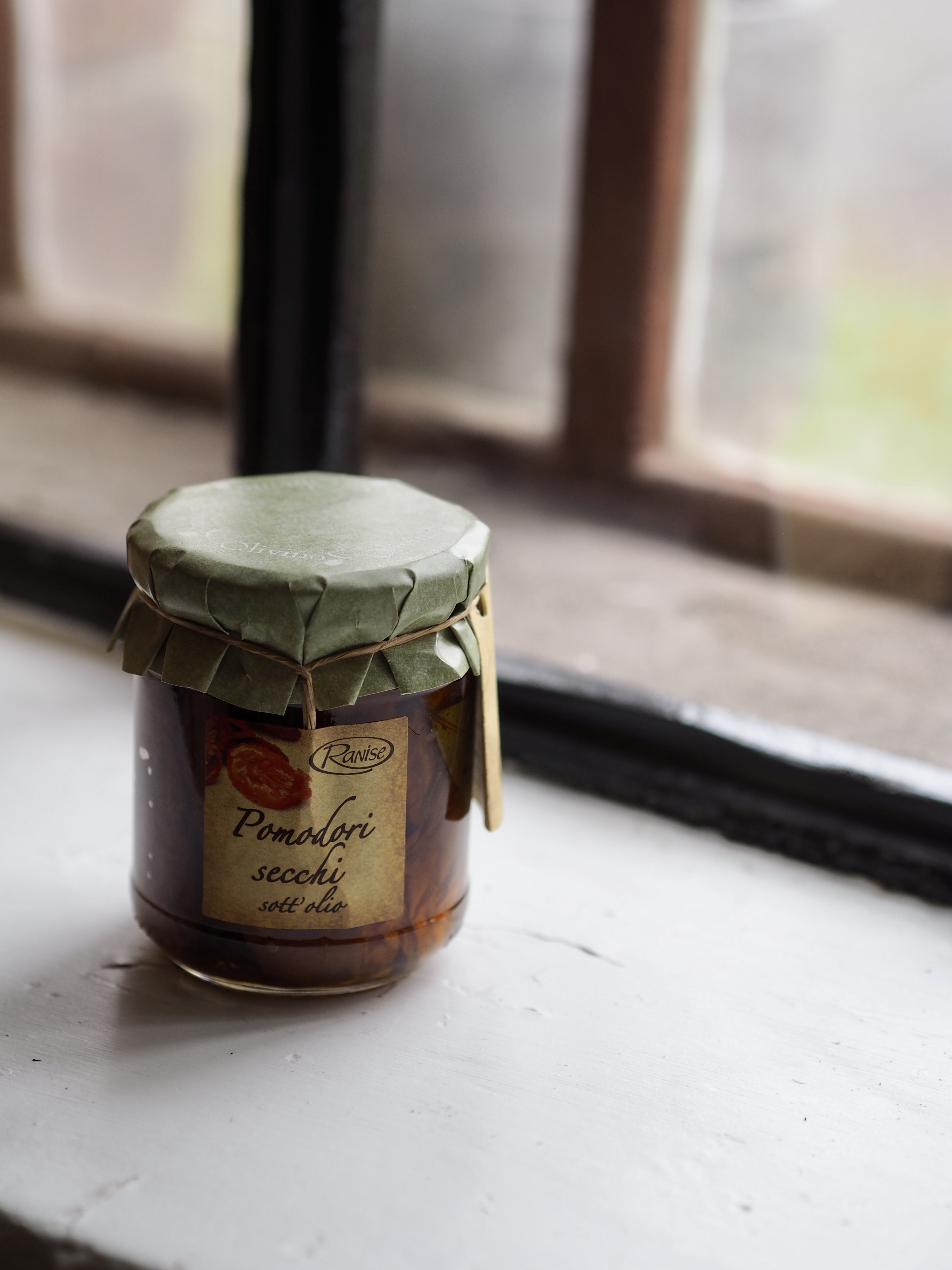 Soltørkede tomater i olivenolje