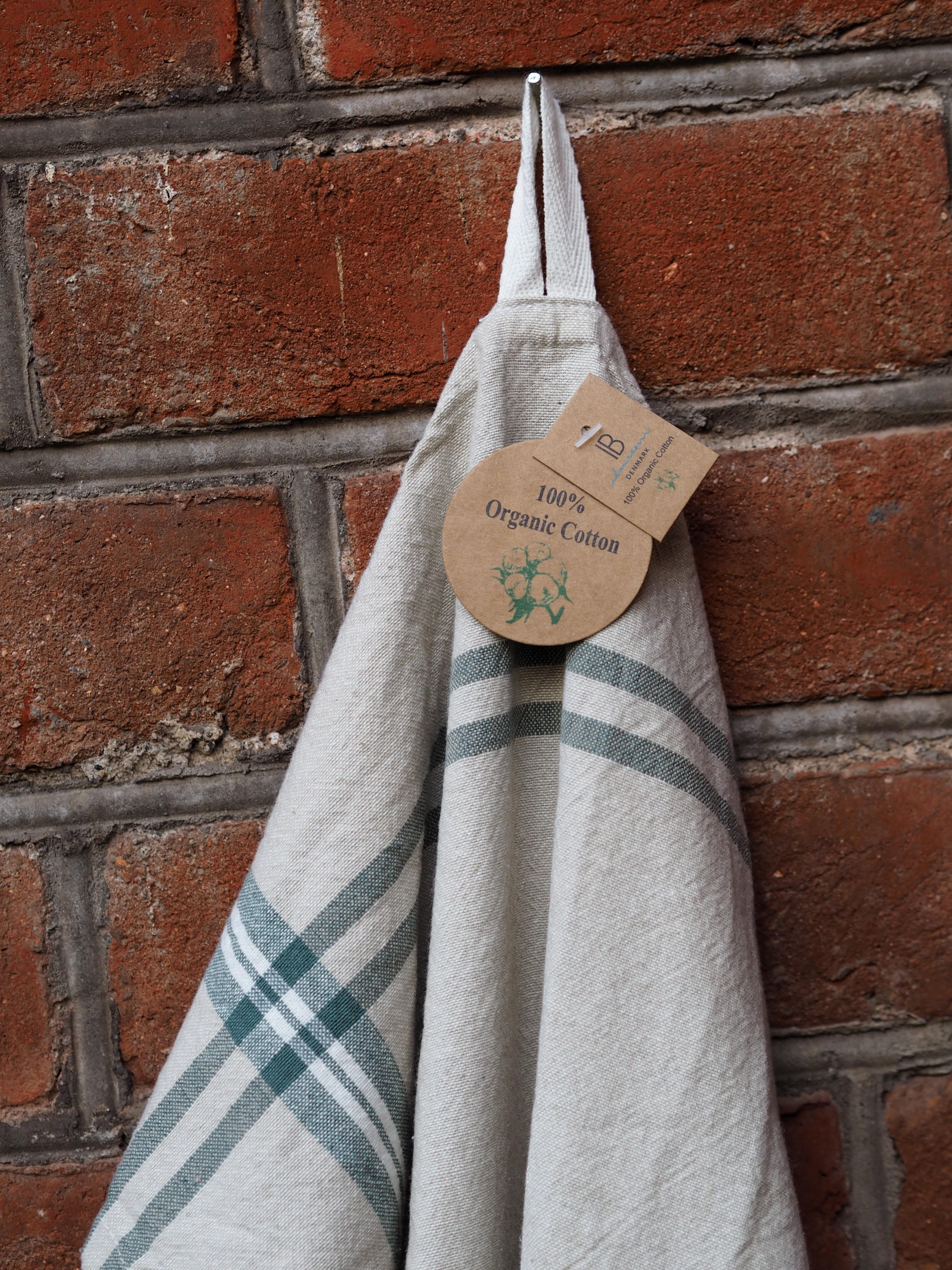 Kjøkkenhåndkle i Økologisk Bomull
