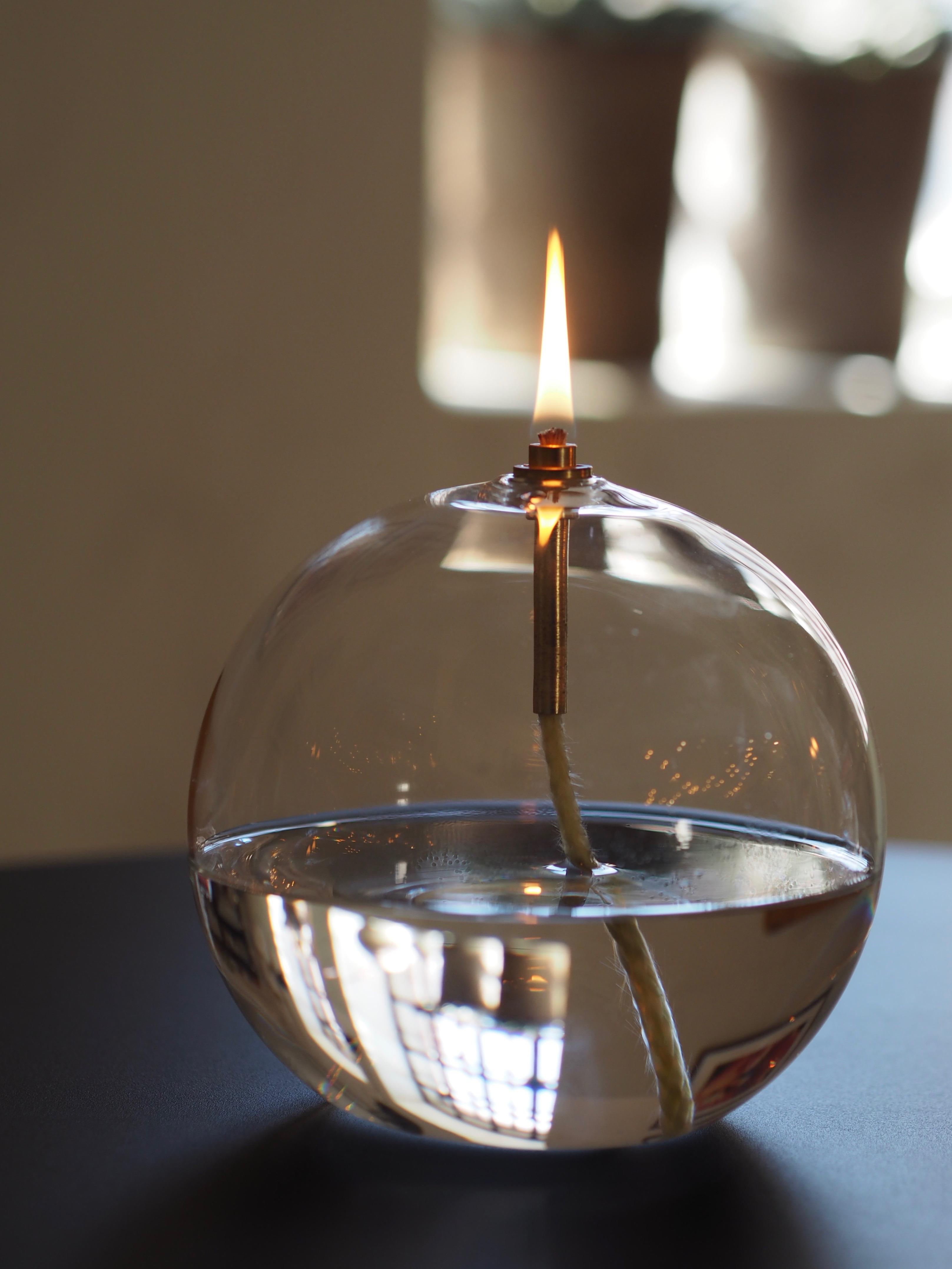 Oljelampe Ball Large, Peri Design