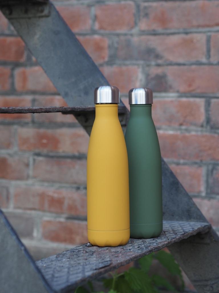 Flaske i stål