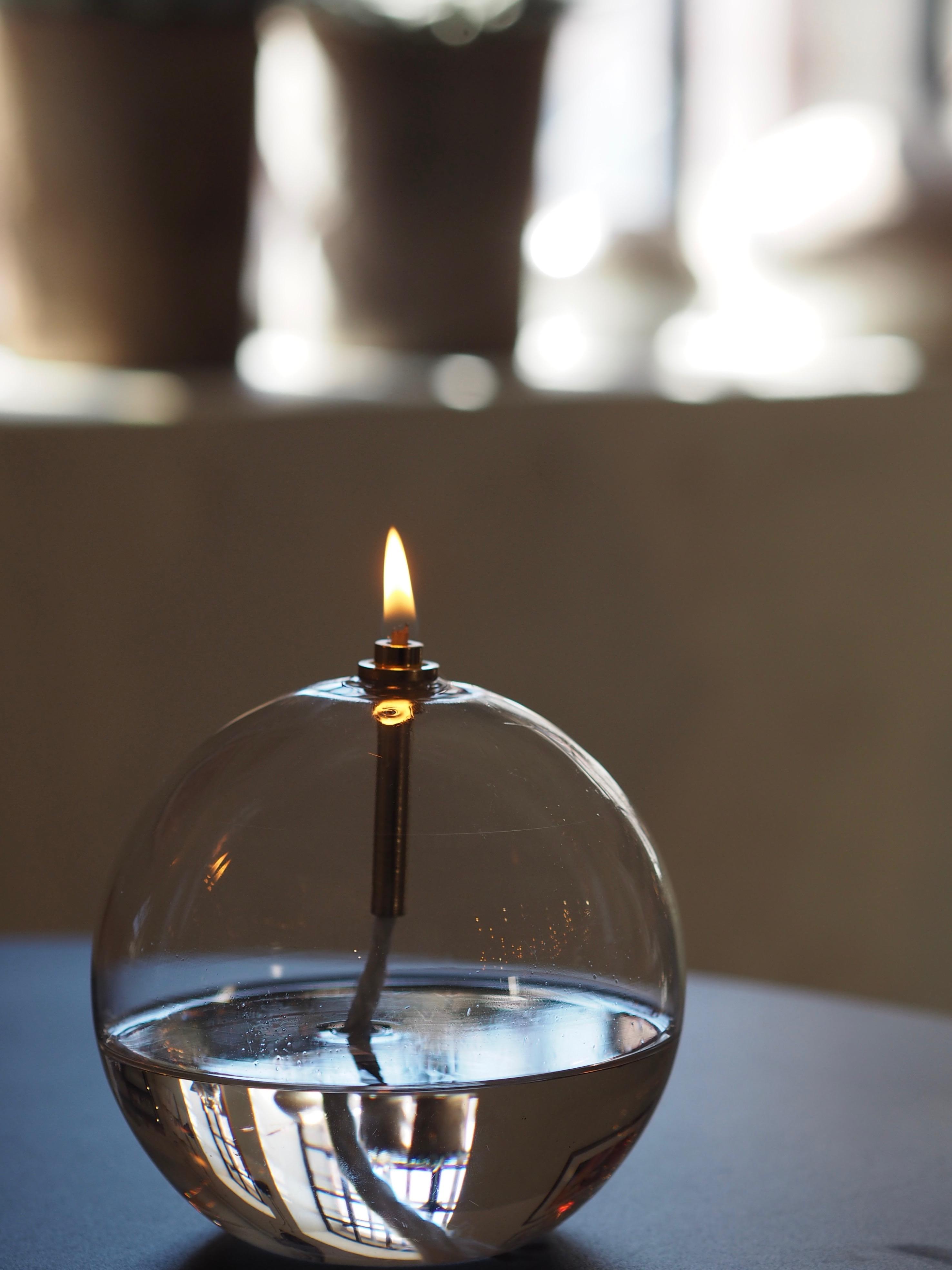 Oljelampe Ball Medium, Peri Design